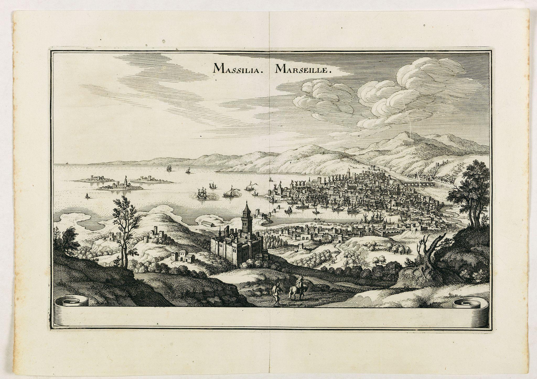 MERIAN,M. -  Massilia - Marseille.