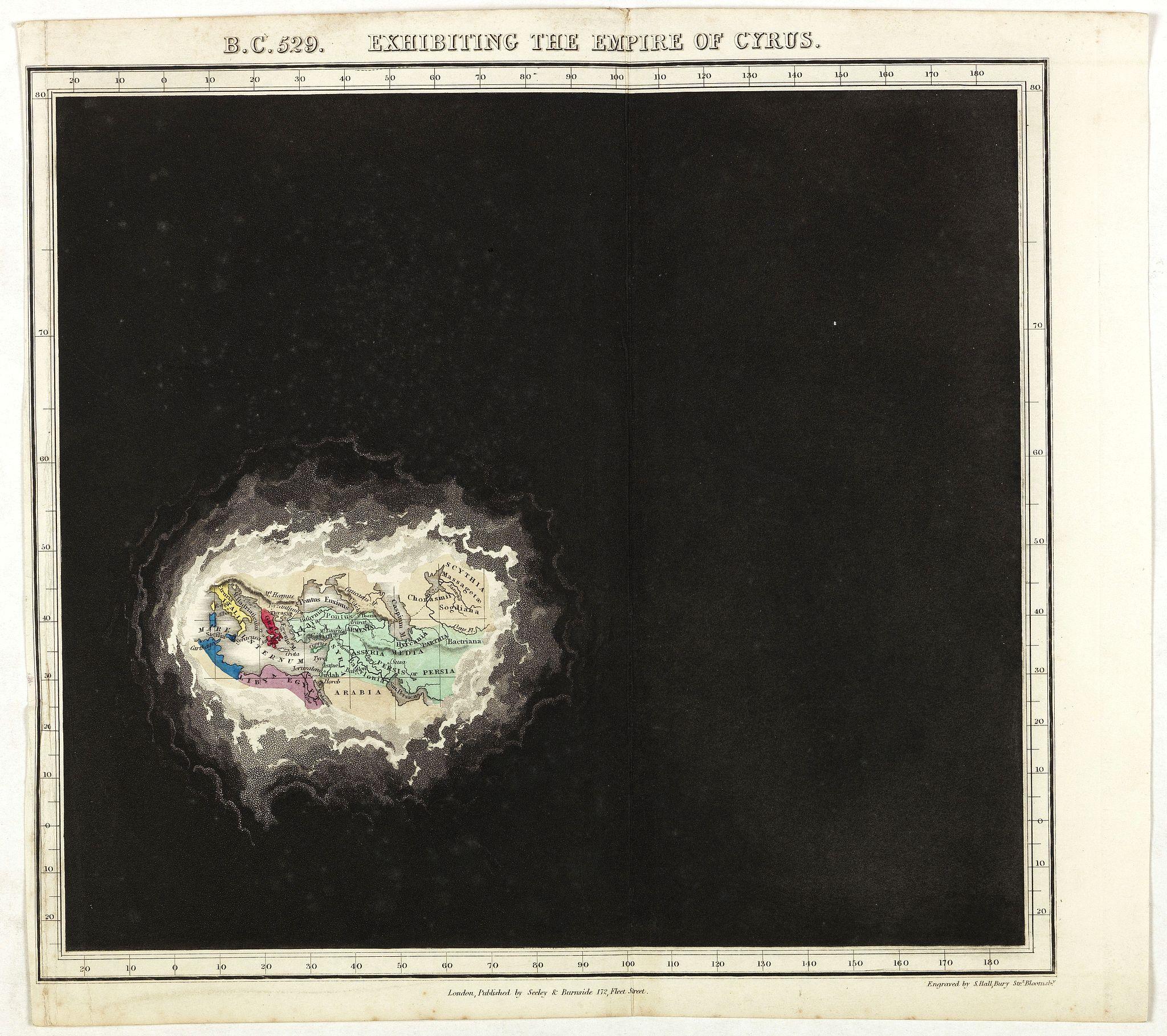 QUIN, E. -  B.C. 529. Exhibiting the Empire of Cyprus.