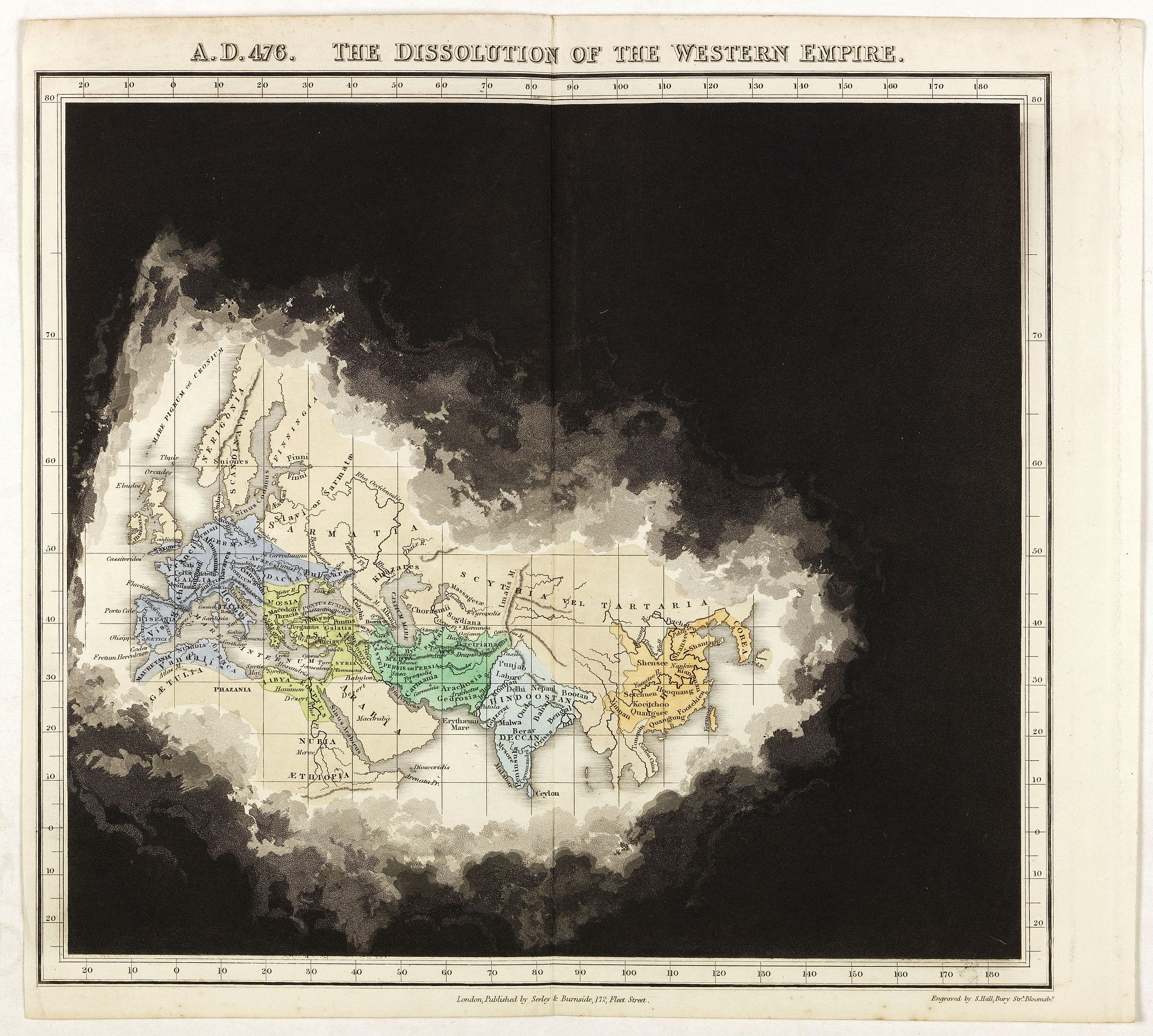 QUIN, E. -  A.D. 476. The dissolution of the Western Empire.