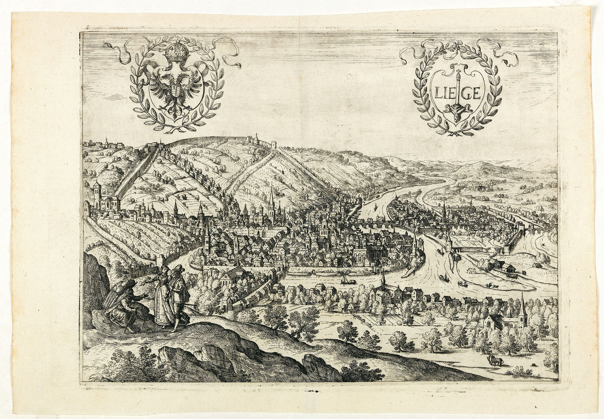 GUICCIARDINI, L. -  Liege.