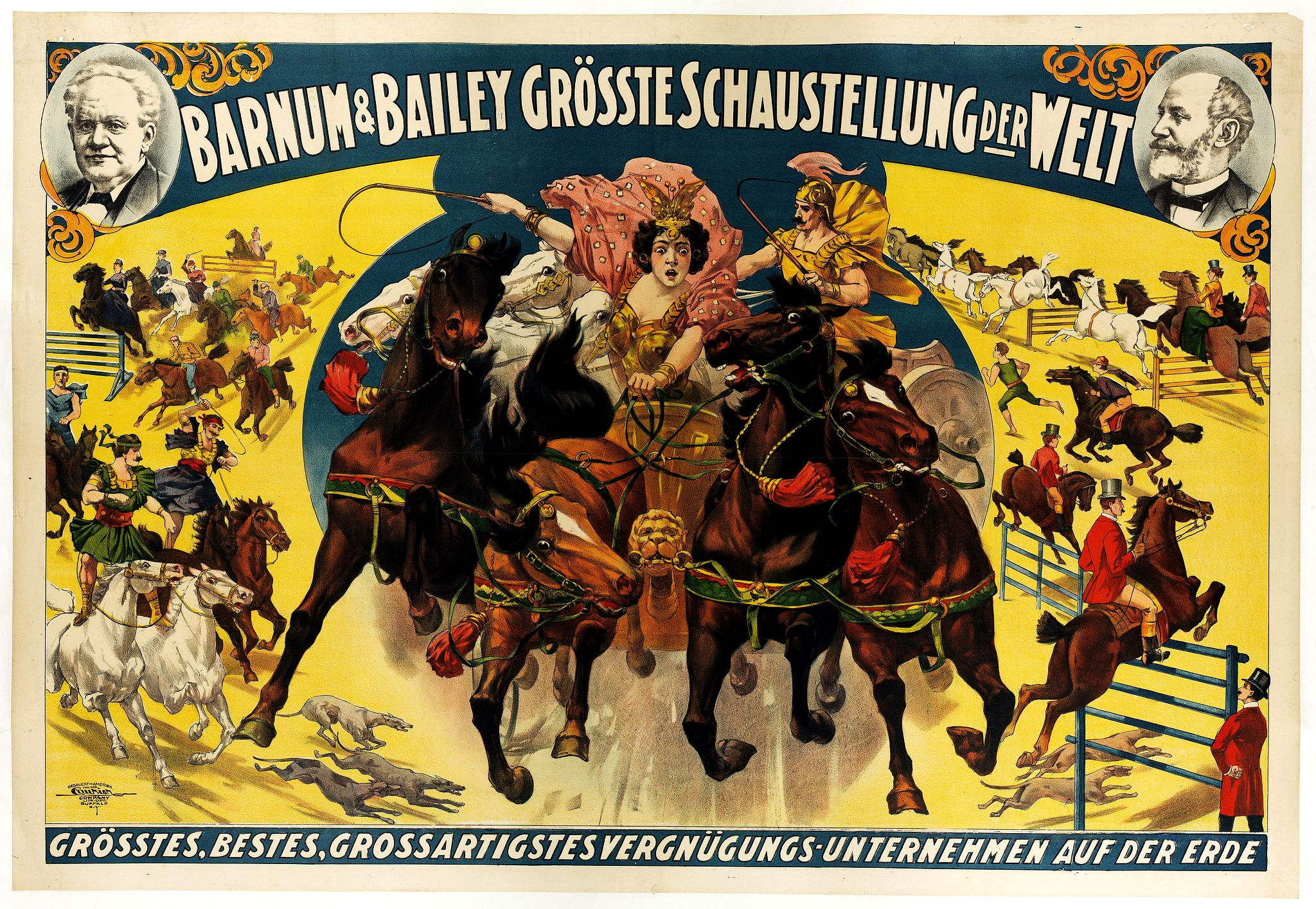 BARNUM & BAILEY -  Barnum & Bailey grösste Schaustellung der Welt.