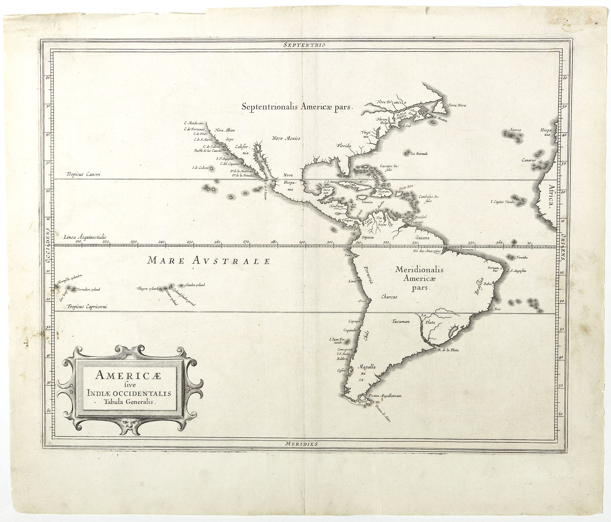 LAET, DE J. / GERITSZ, H. -  Americae sive Indiae Occidentalis.
