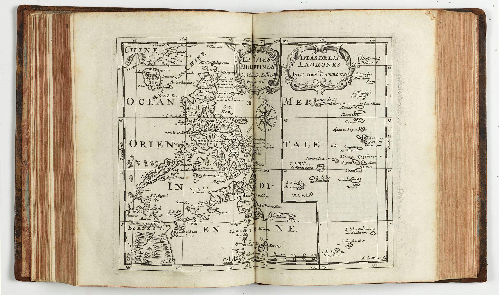 SANSON d'Abbeville, Nicolas (Father and son). - Description de tout l'univers, en plusieurs Cartes, et en divers Traittez de Géographie et d'Histoire…