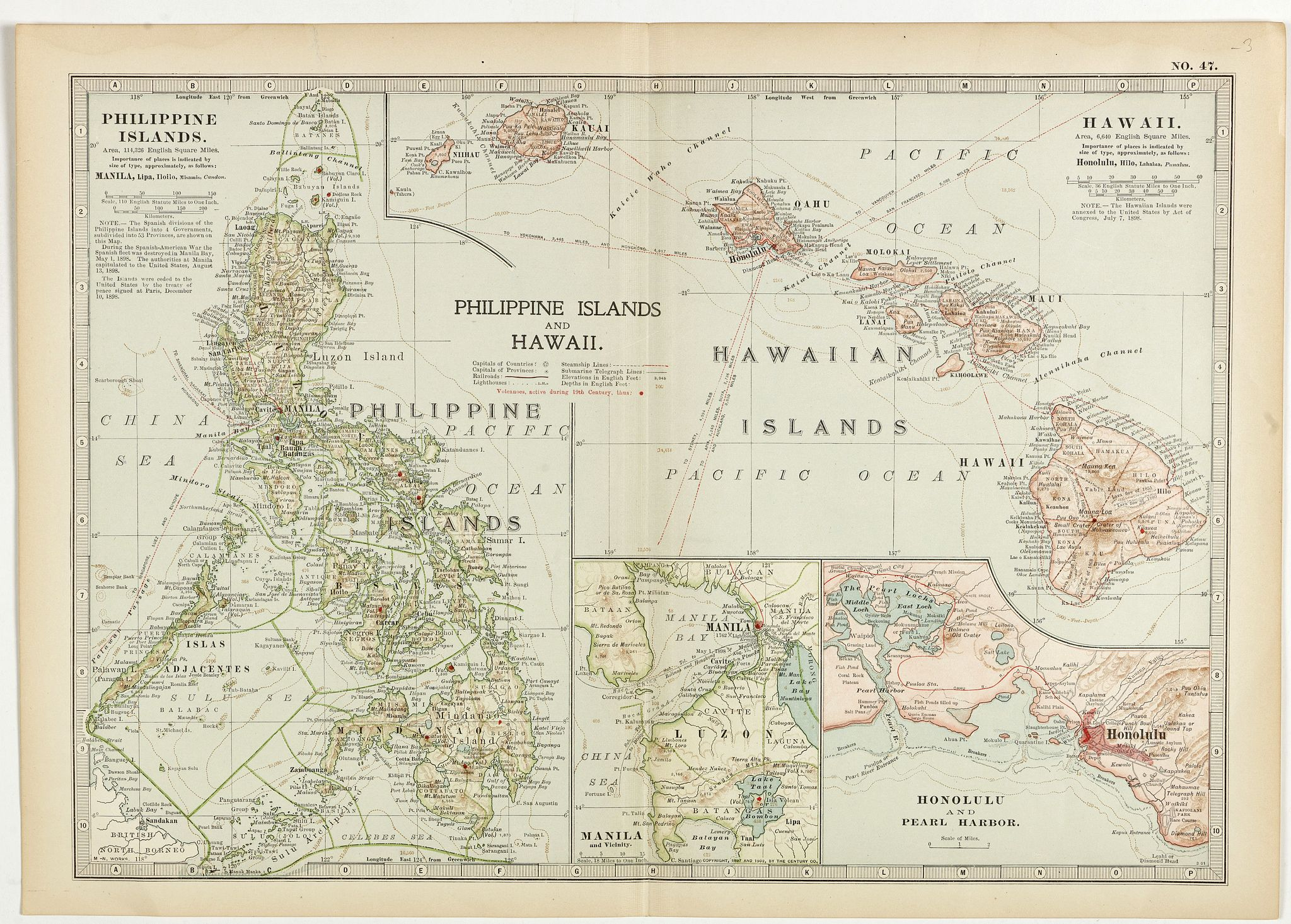 ENCYCLOPEDIA BRIANNICA. -  Philippine Islands and Hawaii.