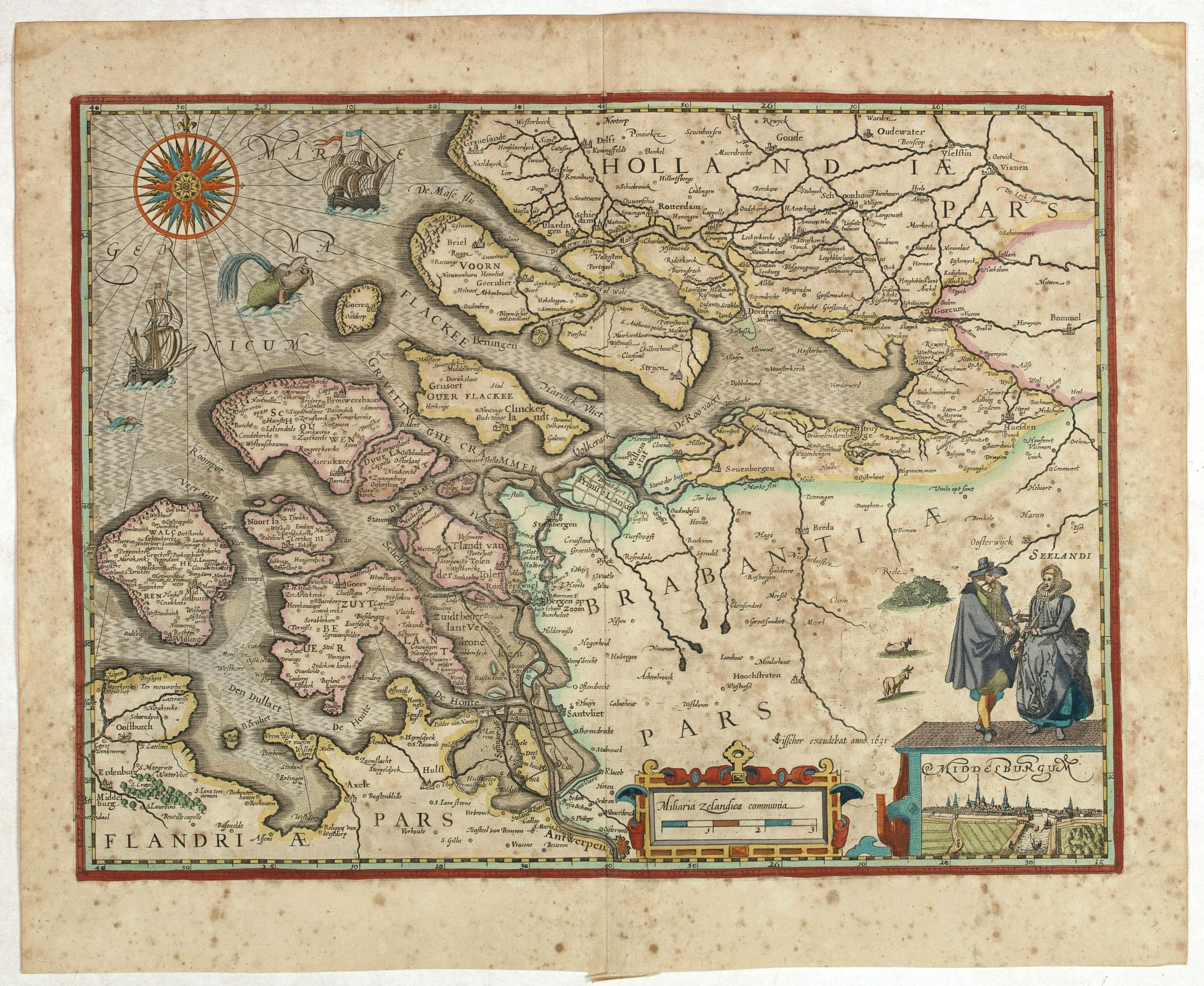 KAERIUS, P. / VISSCHER, C. J. -  (Zeeland)
