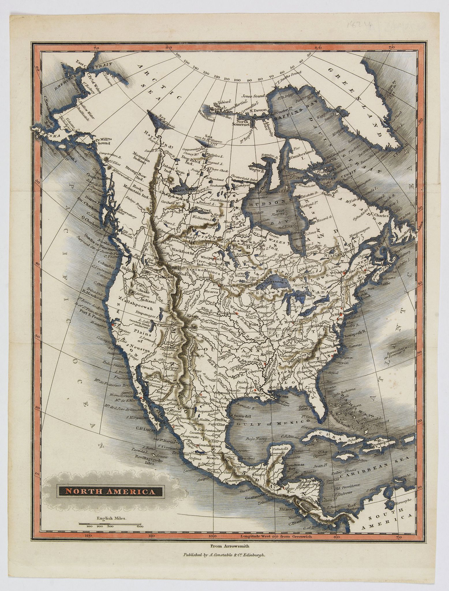 CONSTABLE & RUSSELL. - North America [2 maps].