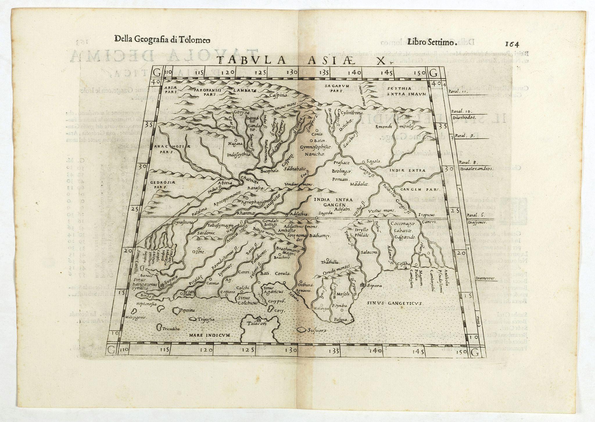 RUSCELLI, G. - Tabula Asiae X.
