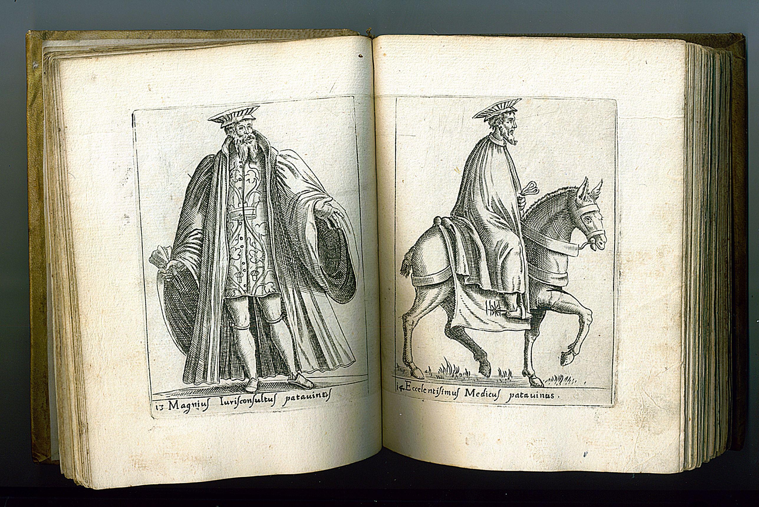 BERTELLI,  P. -  Diversarum nationum habitus, item ordines duo processionum unus summi Pontificis.