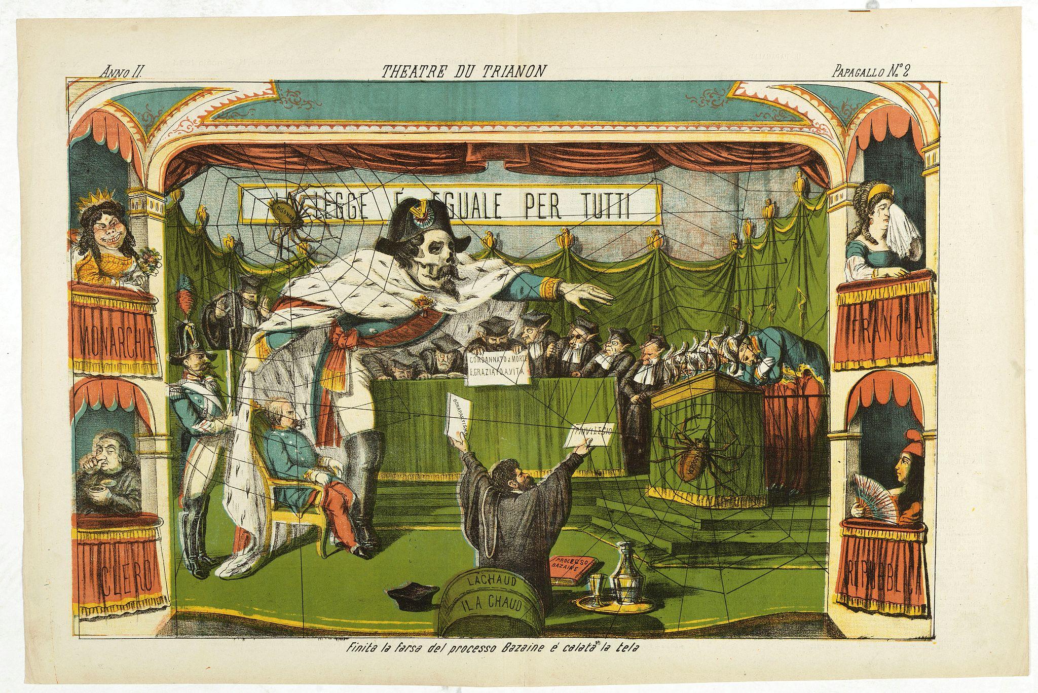 GROSSI, A. -  Theatre du Trianon. Papagallo No. 2. Anno II.