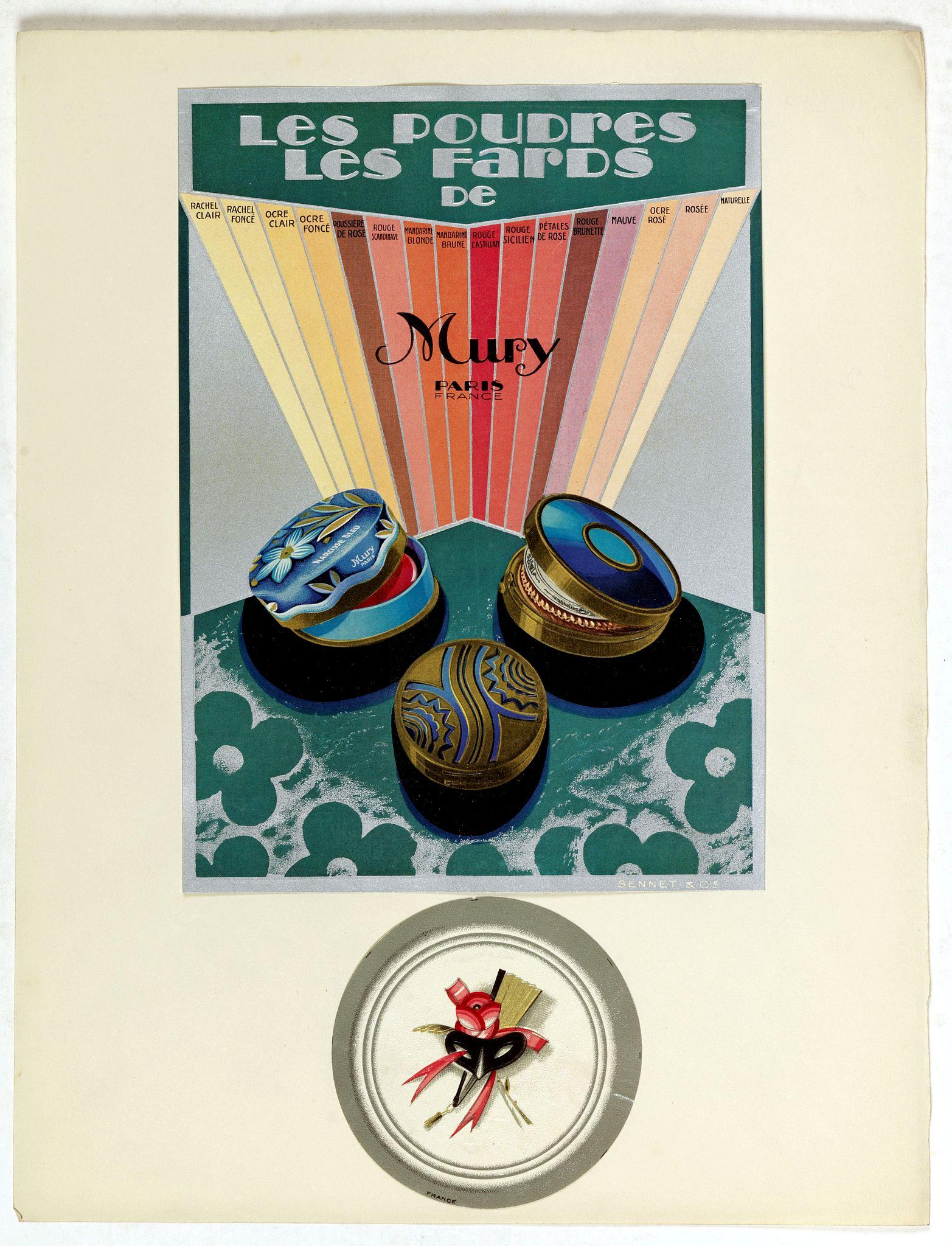 PICHON, Robert (Workshop). -  Les Poudres les fads de Mury Paris.