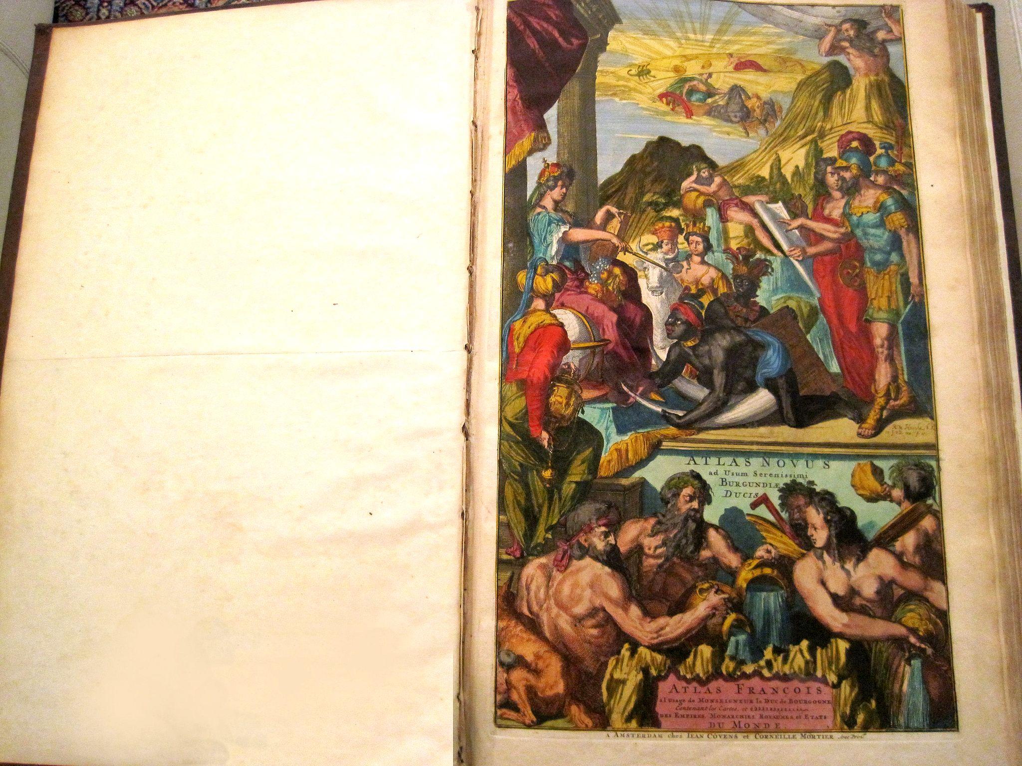 COVENS, J. & MORTIER, C. -  ATLAS NOVUS... Atlas François à l Usage de MONSEIGNEUR le Duc de Bourgogne.