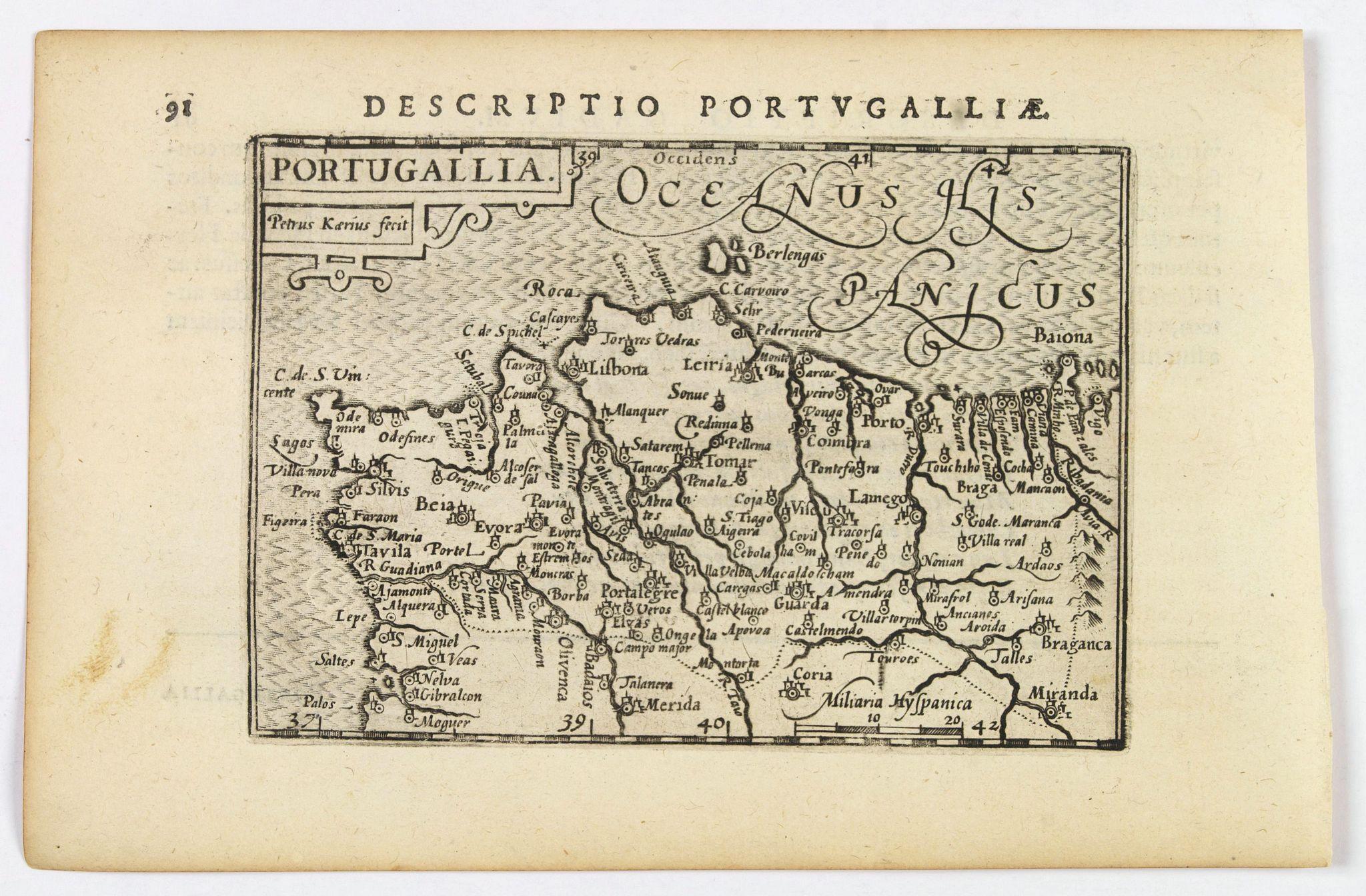LANGENES, B. / BERTIUS, P. -  Portugallia.