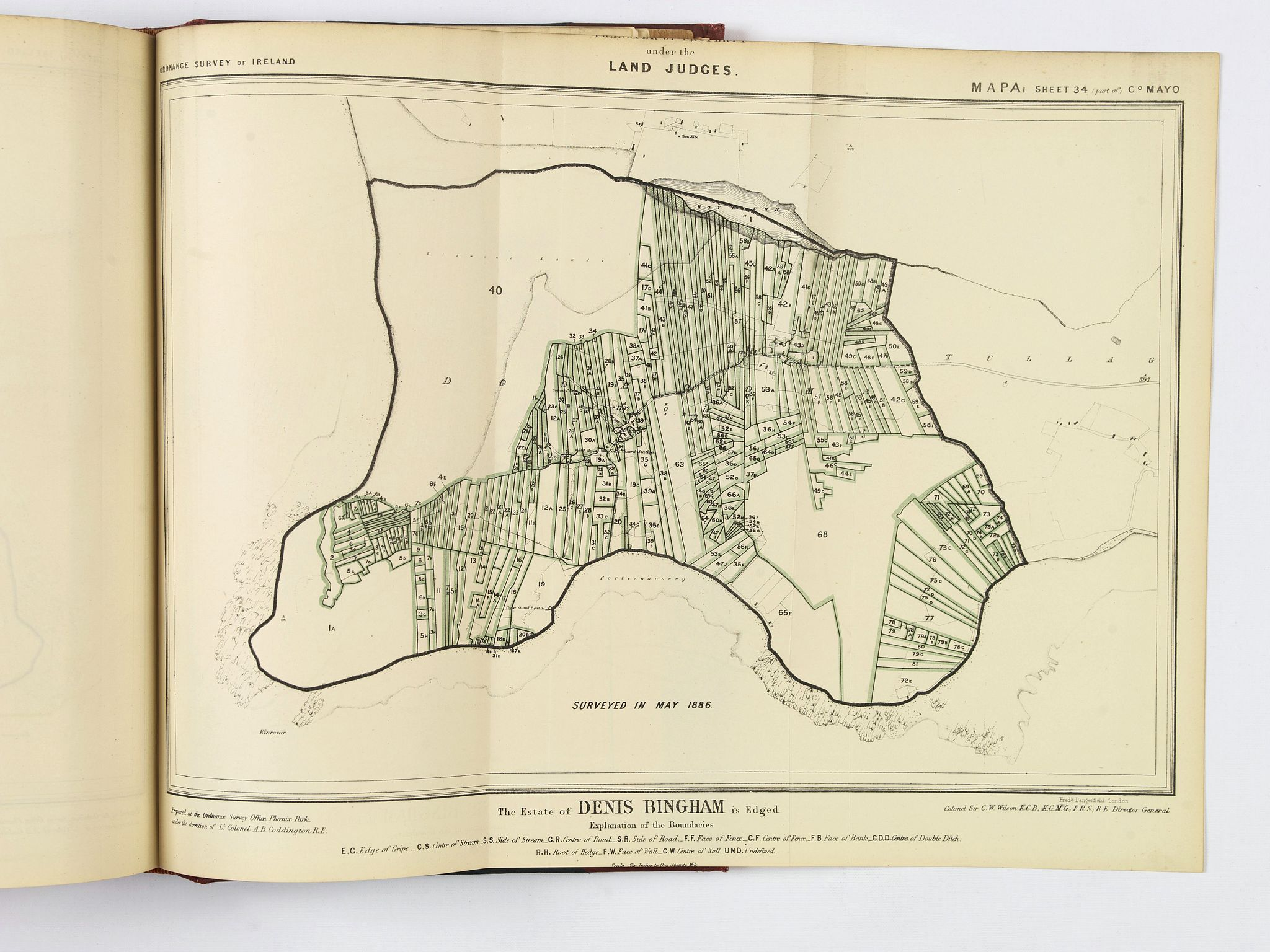 H.M. STATIONARY OFFICE. - [Atlas] Report of the Royal Commission on The Land Law (Ireland) Act, 1881, & The Purchase of Land (Ireland) Act, 1885,