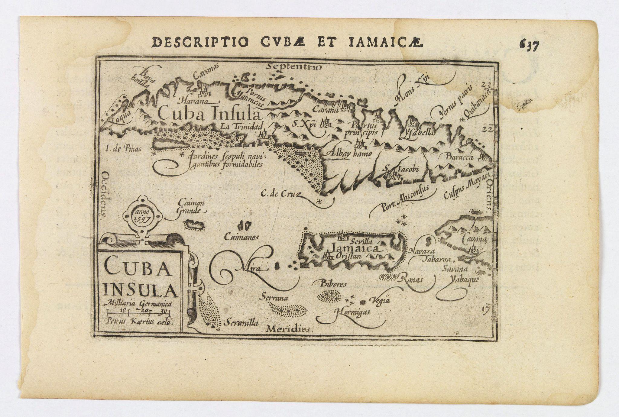 LANGENES, B. / BERTIUS, P. -  Cuba Insula.