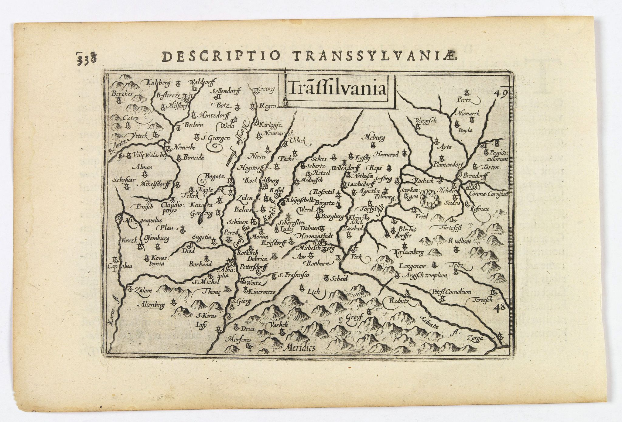 LANGENES, B. / BERTIUS, P. -  Transilvania.