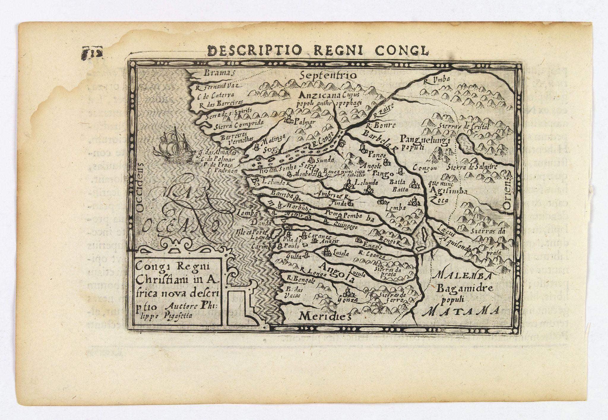 LANGENES, B. / BERTIUS, P. -  Descriptio Regni Congi.