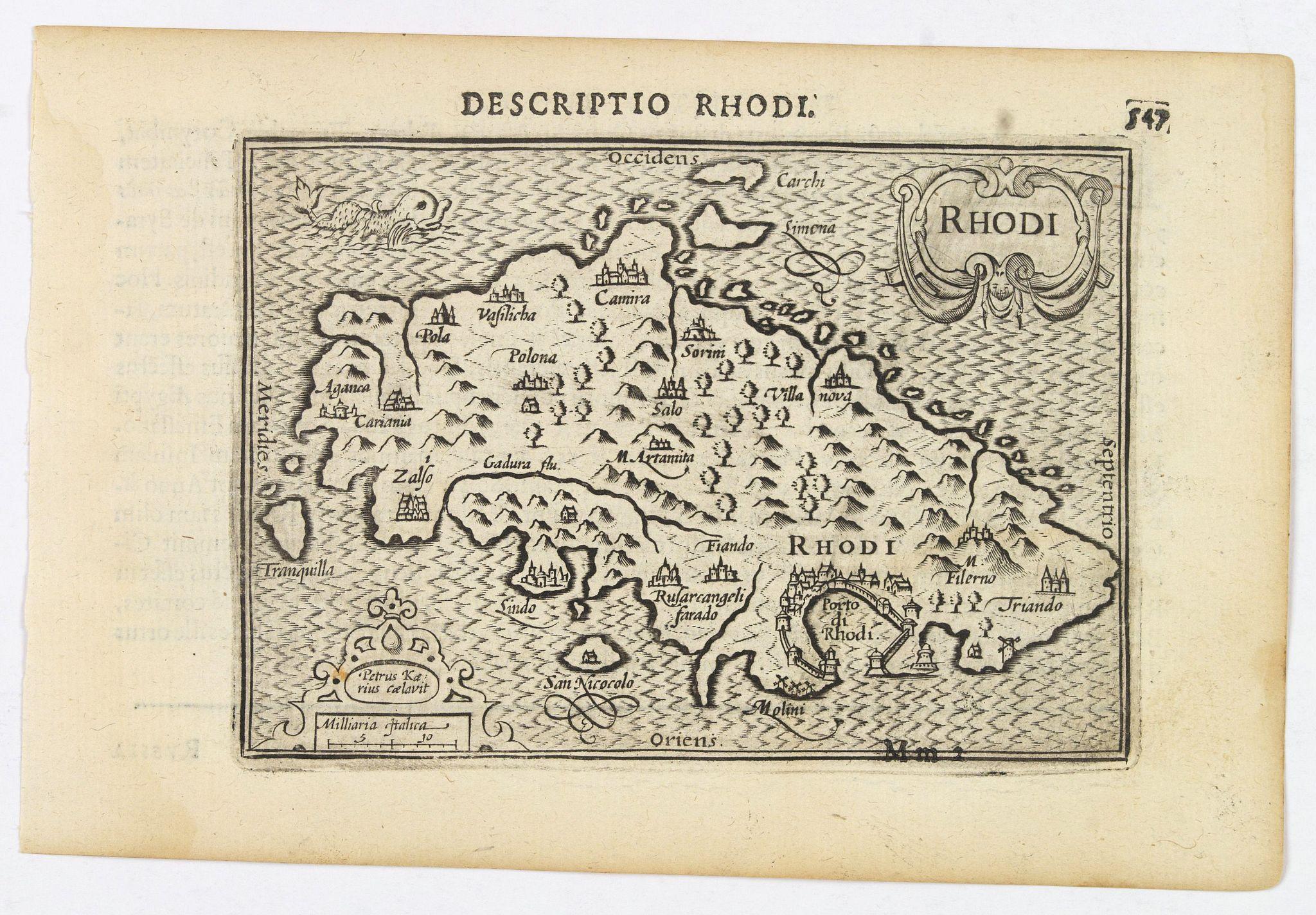 LANGENES, B. / BERTIUS, P. -  Rhodi.