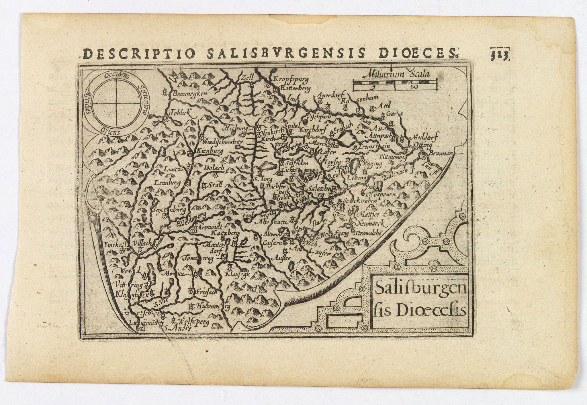 LANGENES, B. / BERTIUS, P. -  Salisburgensis Dioecesis.