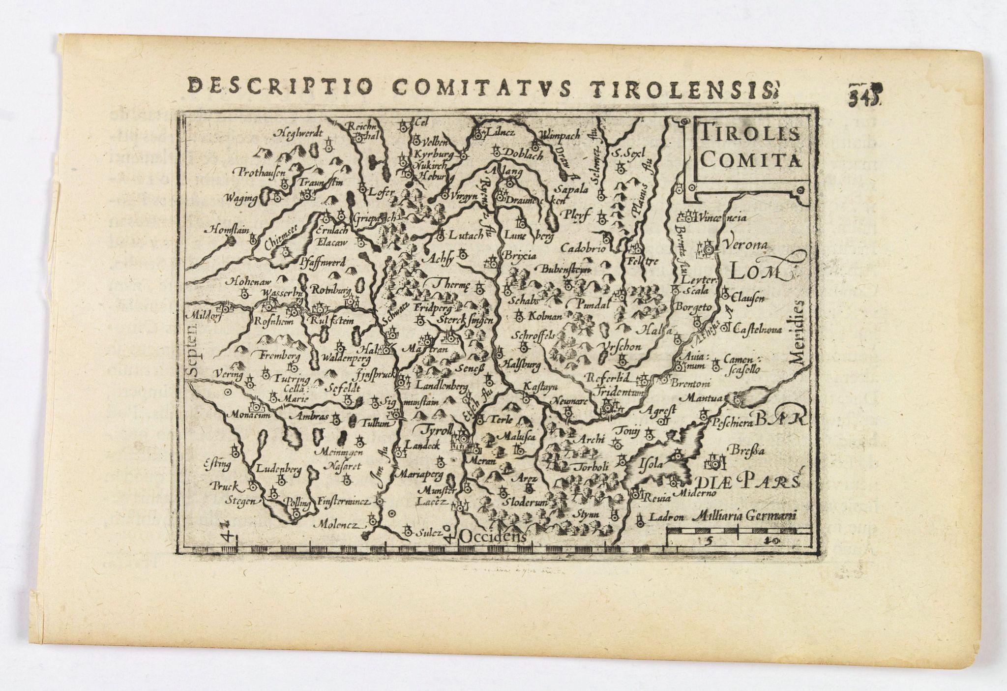 LANGENES, B. / BERTIUS, P. -  Tirolis Comita.