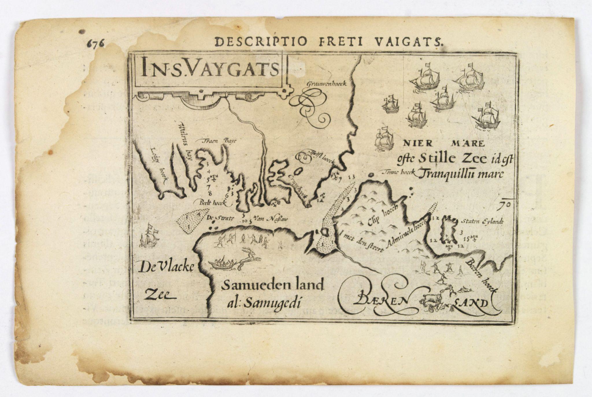 LANGENES, B. / BERTIUS, P. -  Descriptio Freti Vaigats.
