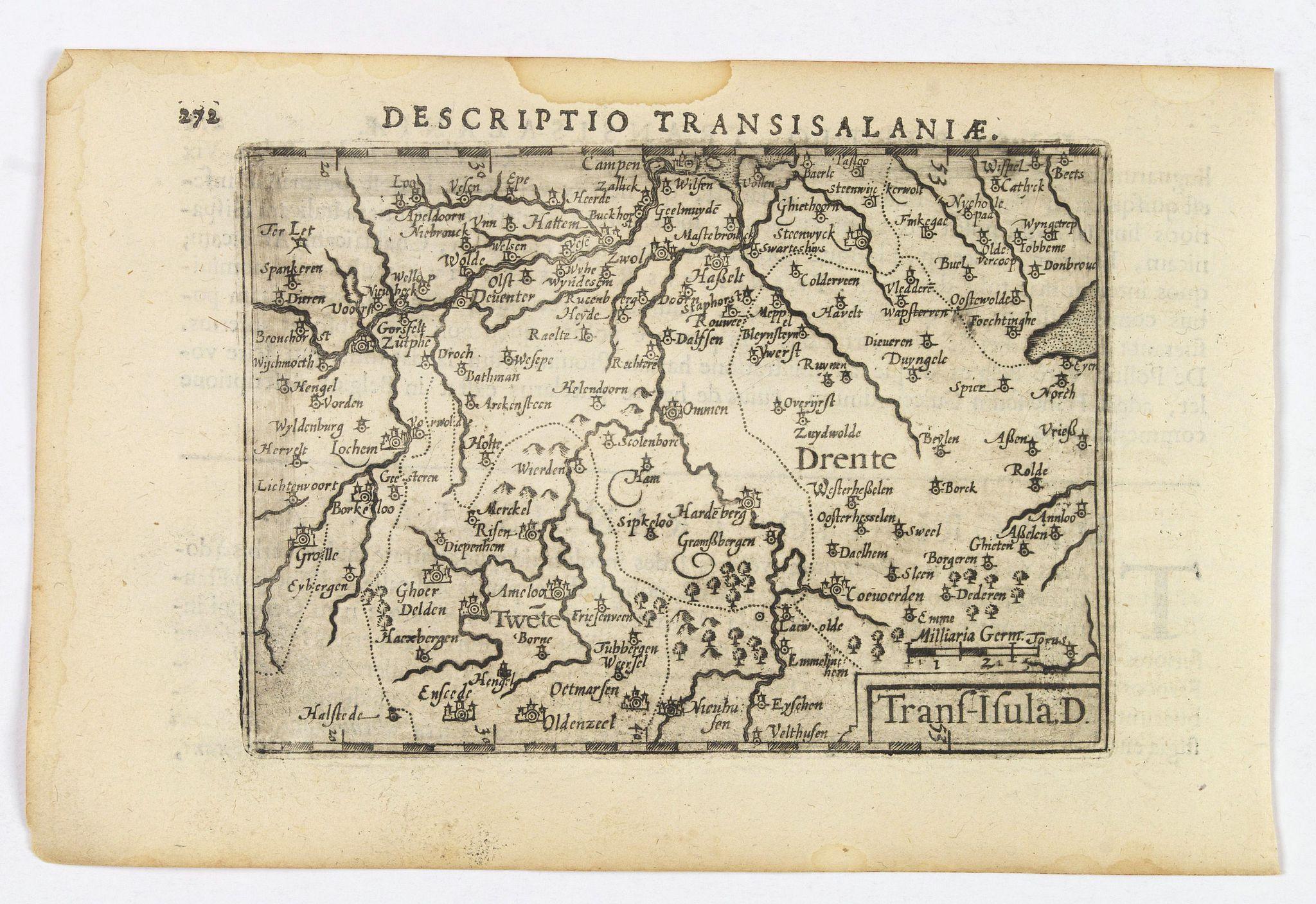 LANGENES, B. / BERTIUS, P. -  Descriptio Transisalaniae.