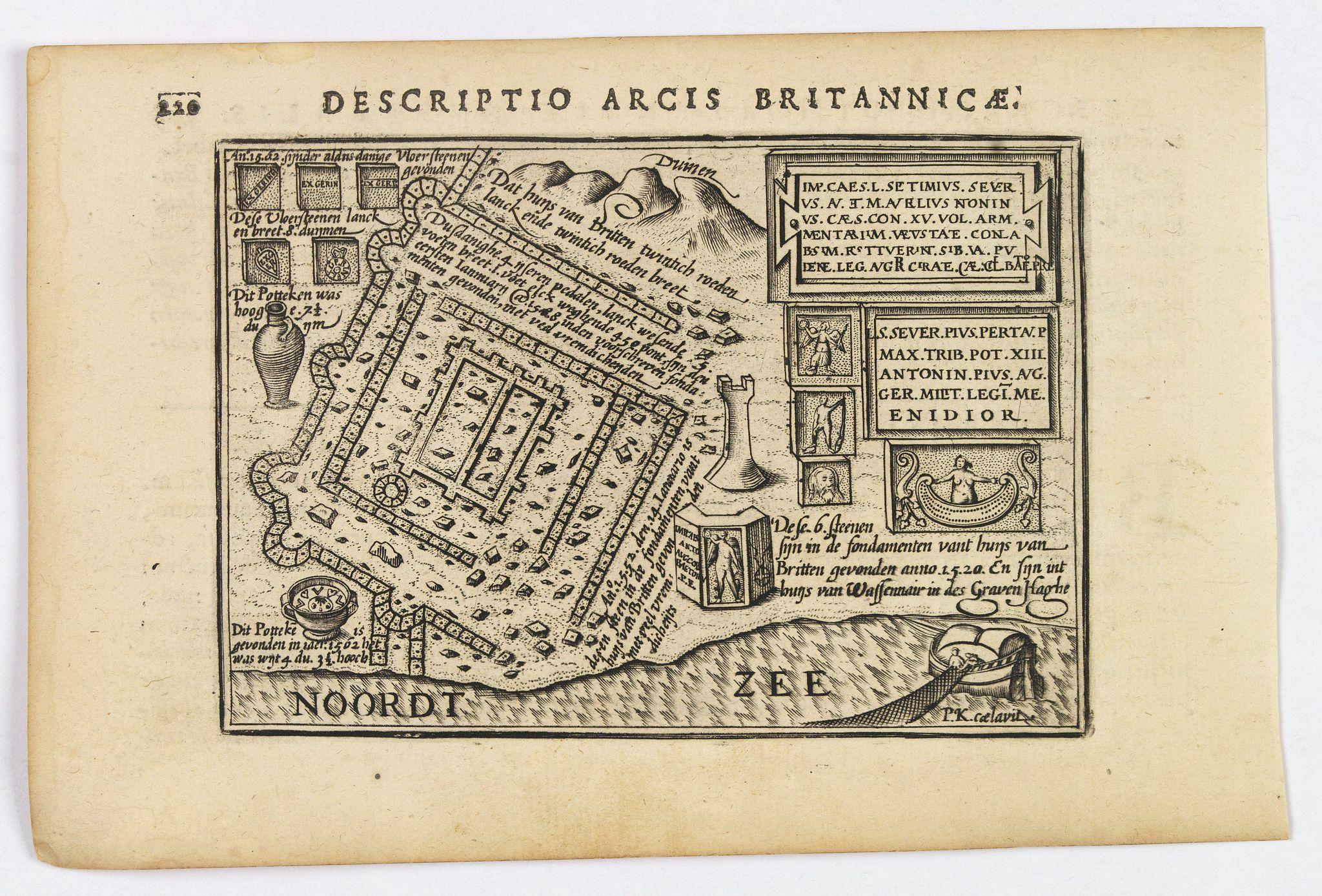 LANGENES, B. / BERTIUS, P. -  Descriptio Arcis Britannicae.