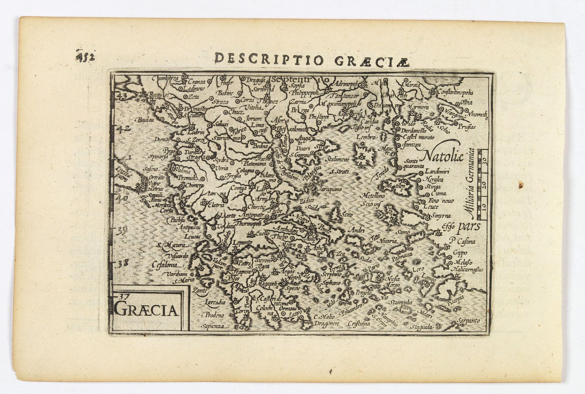 LANGENES, B. / BERTIUS, P. -  Graecia.