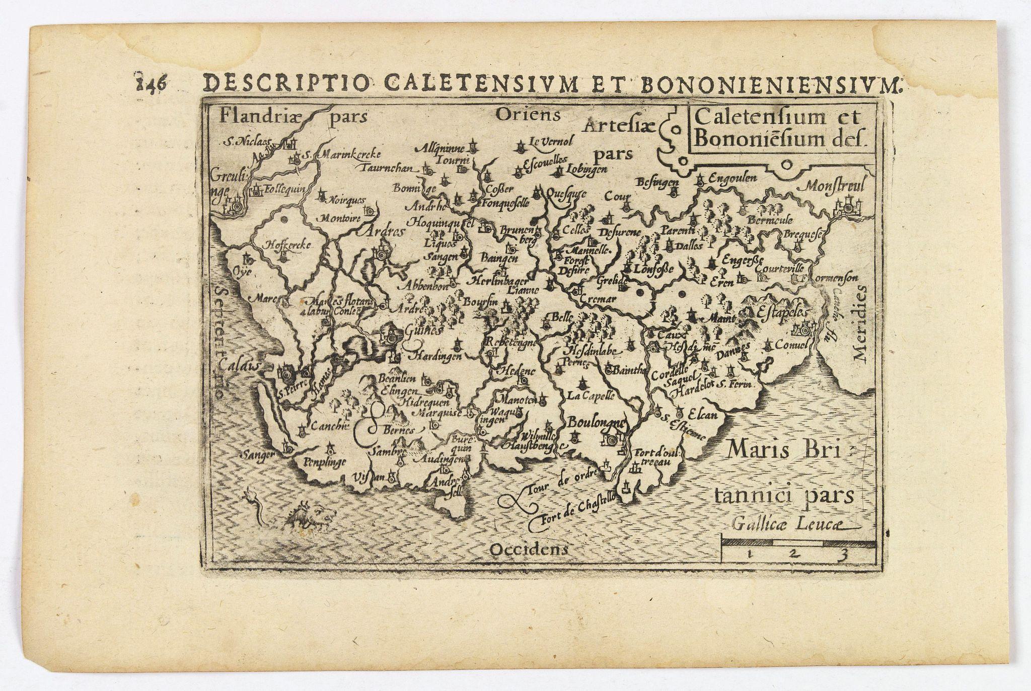 LANGENES, B. / BERTIUS, P. -  Caletensium et Bononiesium def.