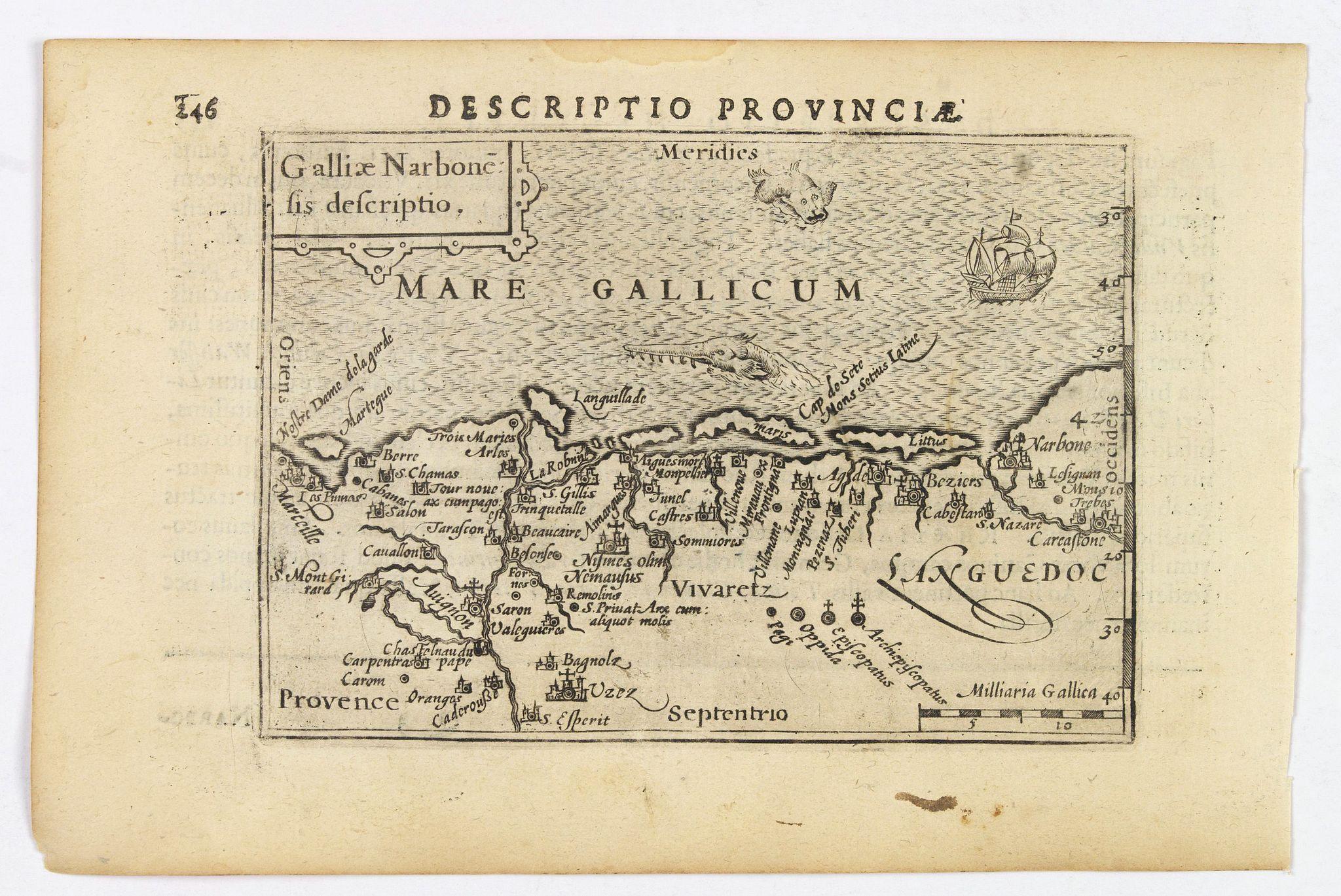 LANGENES, B. / BERTIUS, P. -  Descriptio Provinciae.
