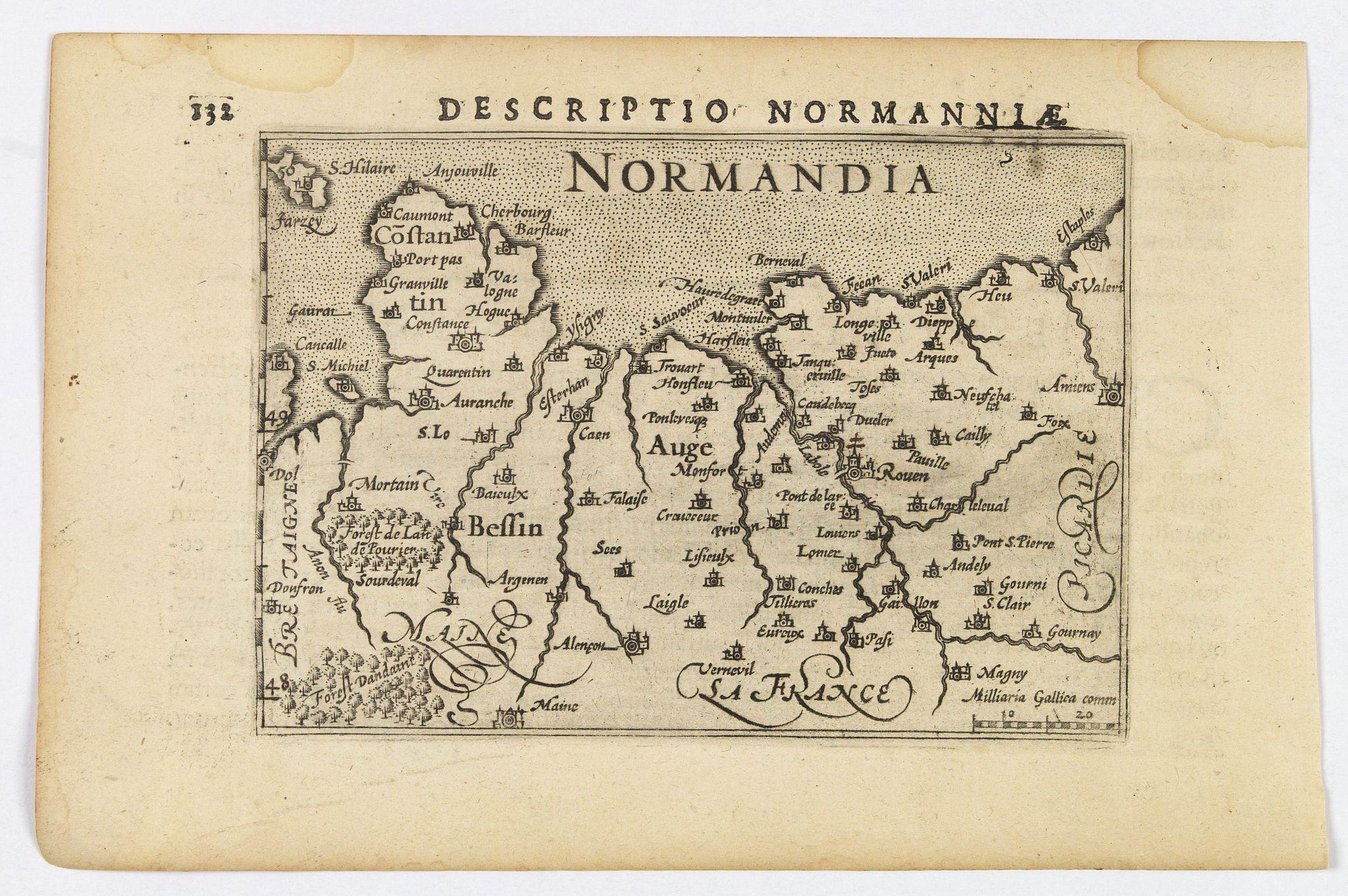 LANGENES, B. / BERTIUS, P. -  Descriptio Normanniae.