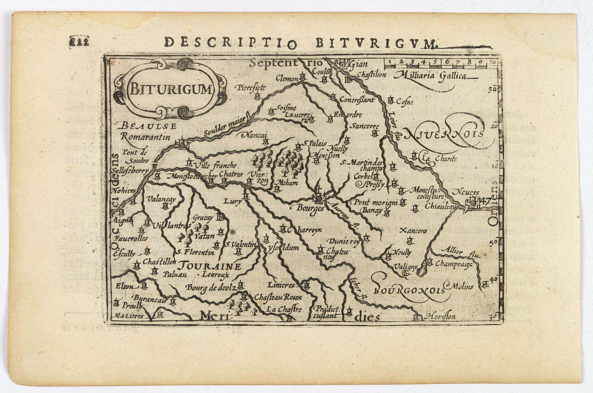 LANGENES, B. / BERTIUS, P. -  Descriptio Biturigum.