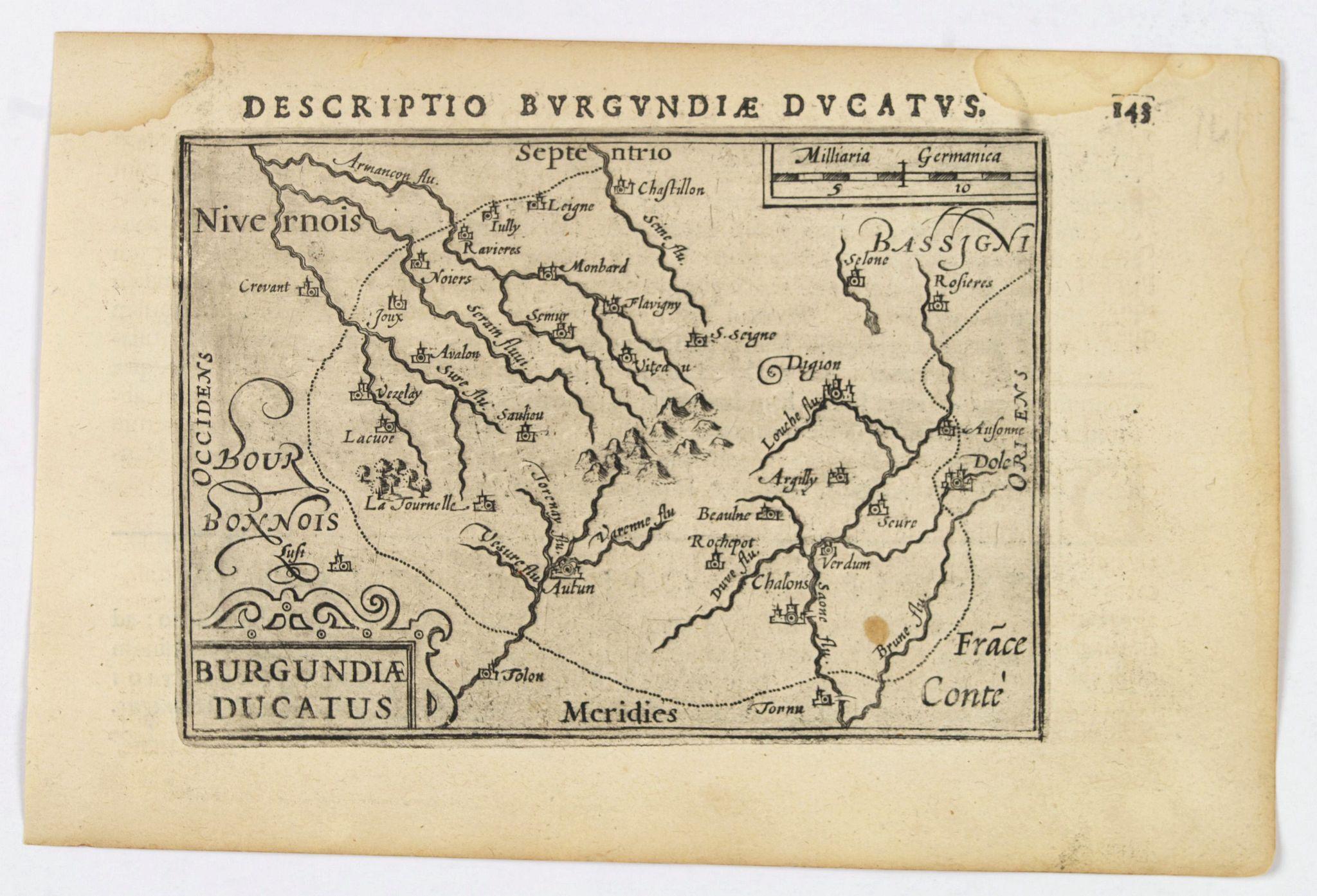LANGENES, B. / BERTIUS, P. -  Descriptio Burgundiae Ducatus.