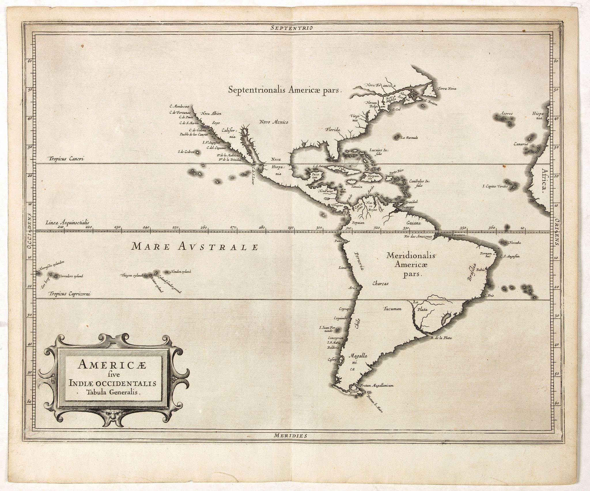 LAET, DE J./ GERITSZ,H. -  Americae sive Indiae Occidentalis.