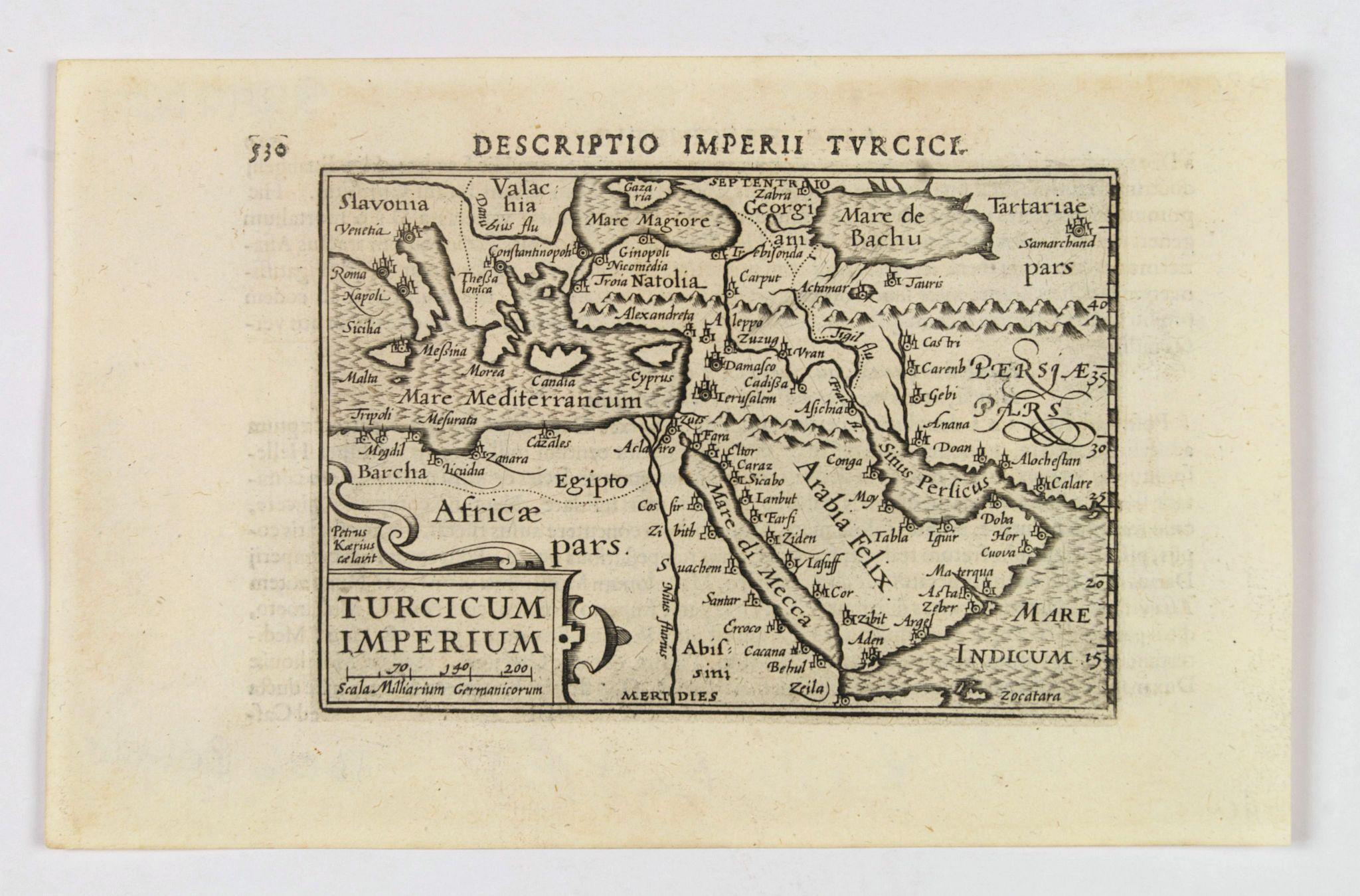 LANGENES, B. / BERTIUS, P. - Turcicum Imperium.