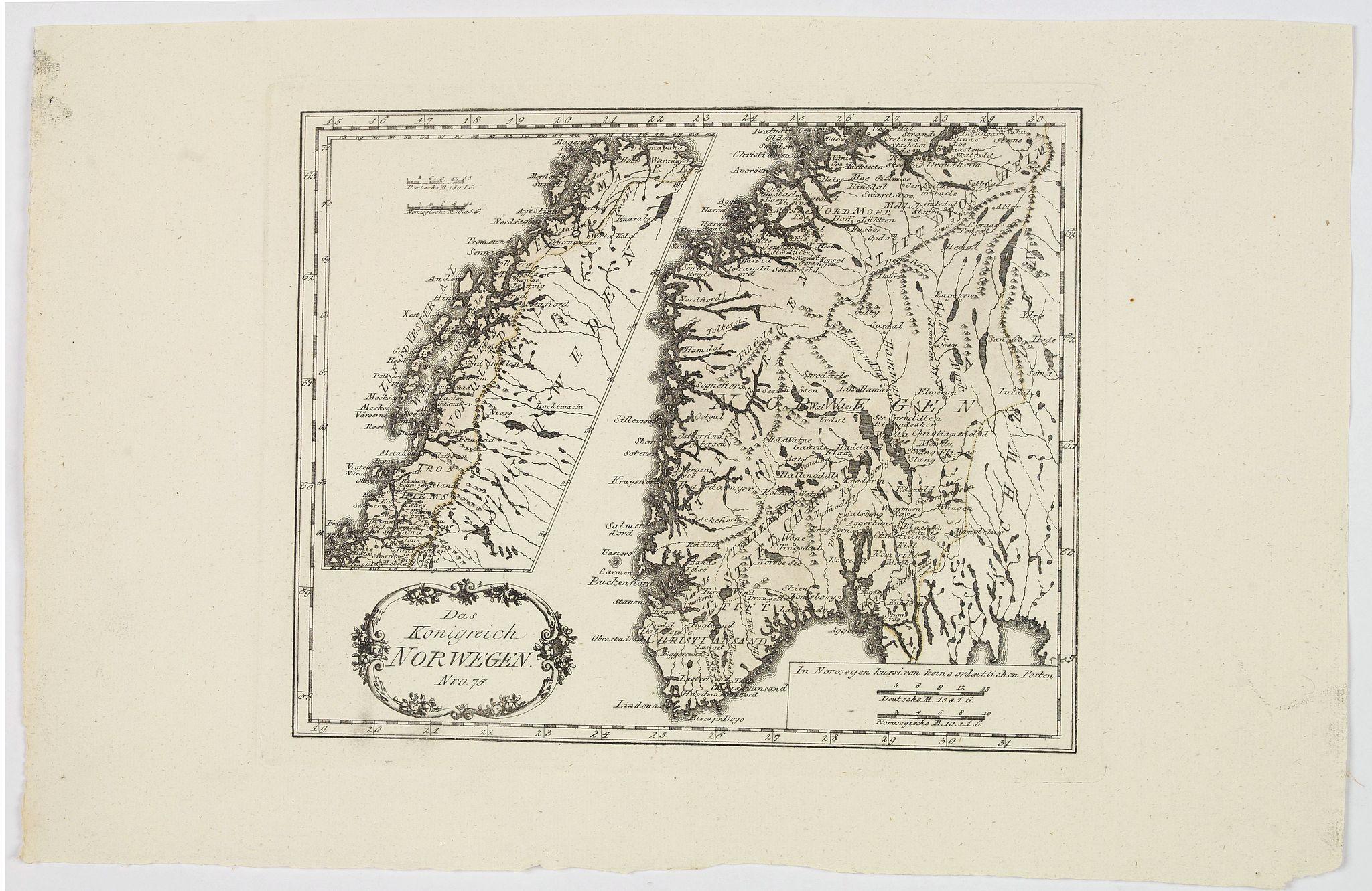 VON REILLY, J.J.F. - Das Konigreich Norwegen.
