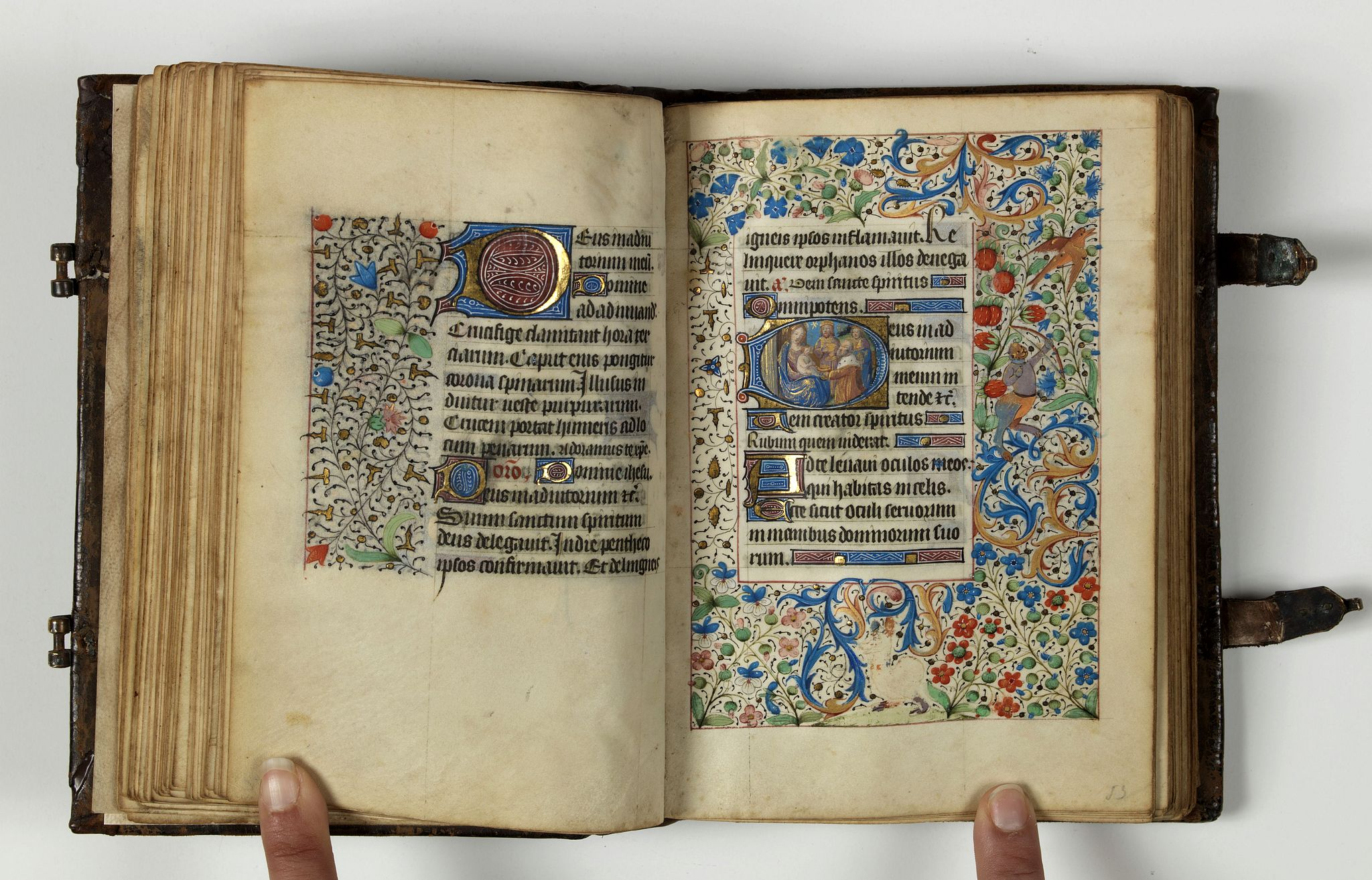 BOOK OF HOURS -  Horae. [Book of Hours, Use of Angers]