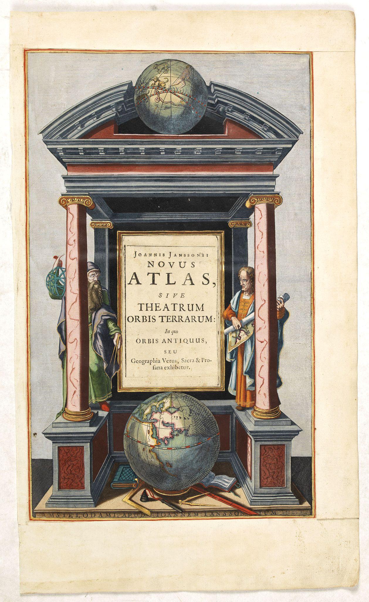 JANSSONIUS, J. -  Joannis Janssonii Novus Atlas, sive Theatrum Orbis Terrarum: in quo Orbis Antiquus. . .
