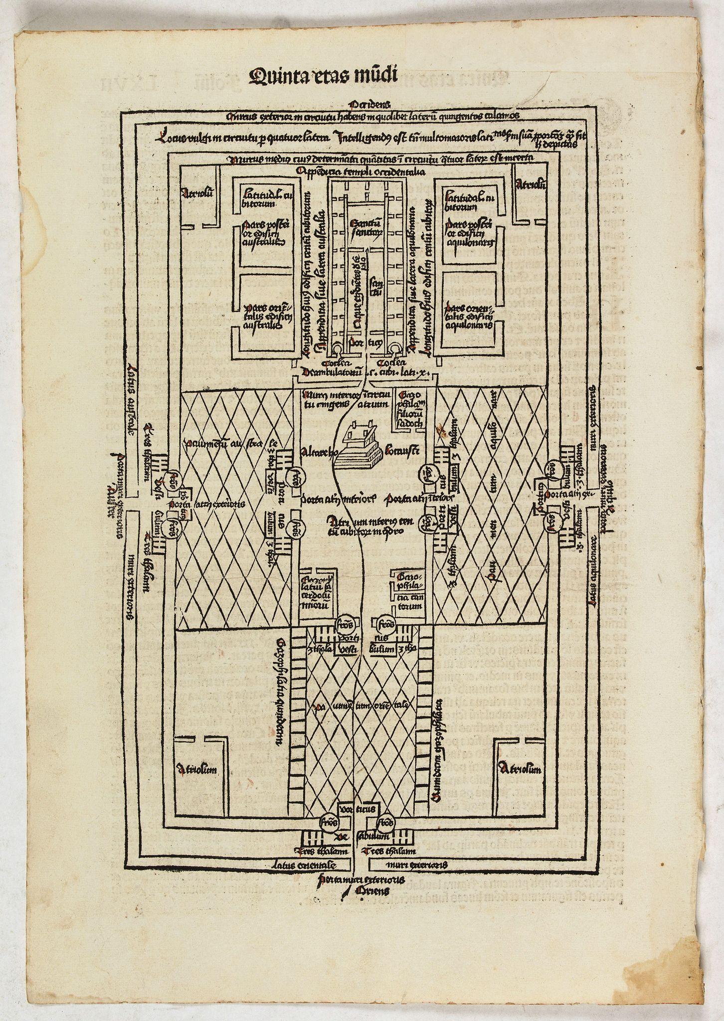 SCHEDEL, H. -  Quita Etas Mundi. Folium.LXVII
