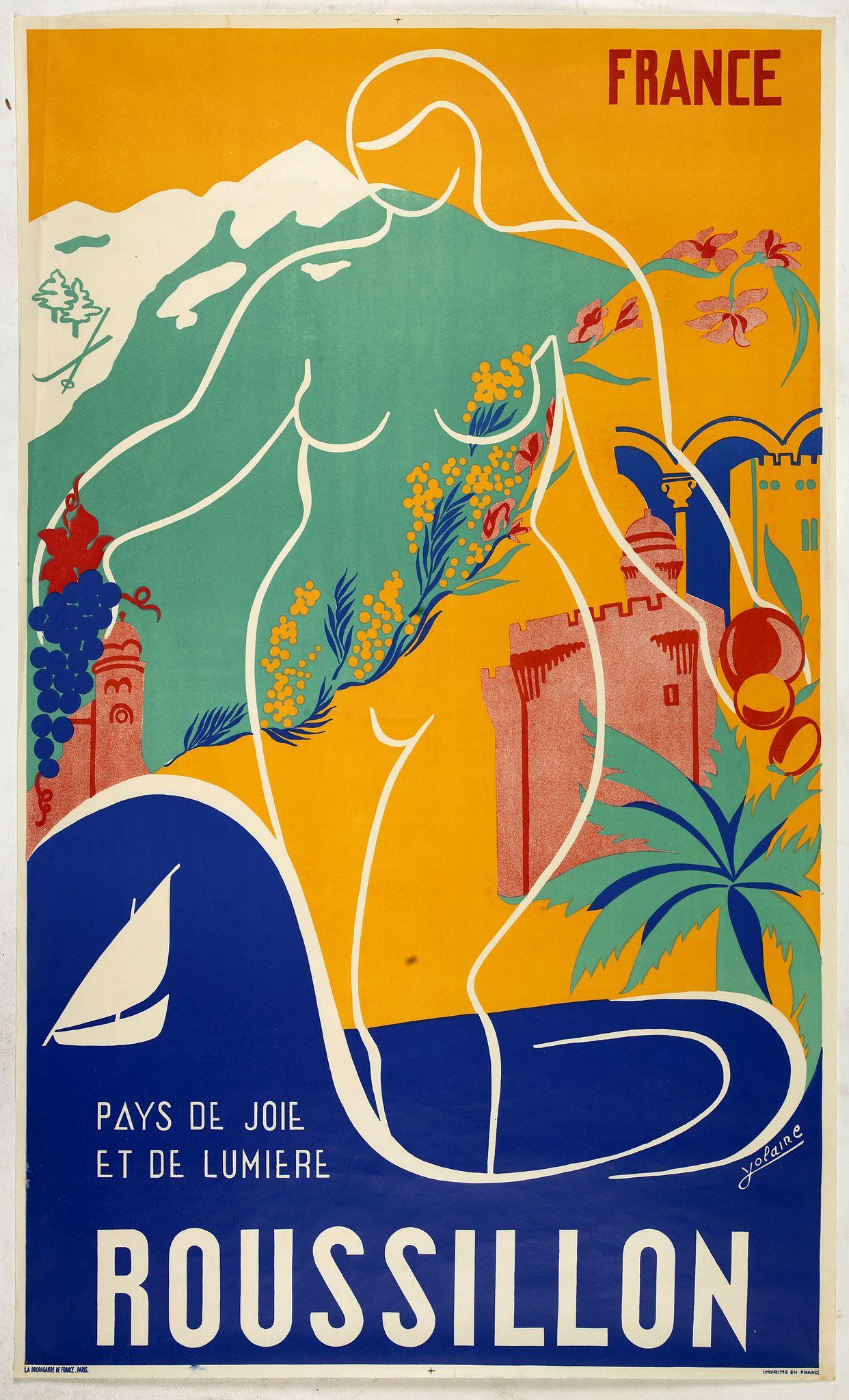 YOLAIRE -  France - Roussilon - Pays de joie et de lumiere.