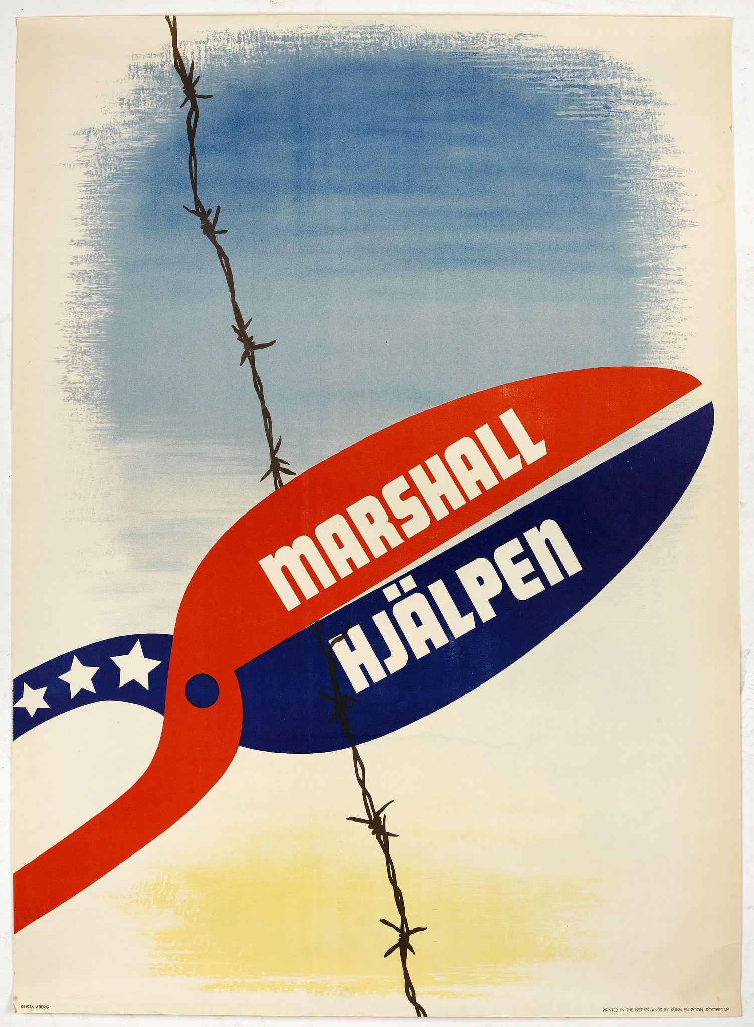ABERG, G. -  Marshall Hjälpen.