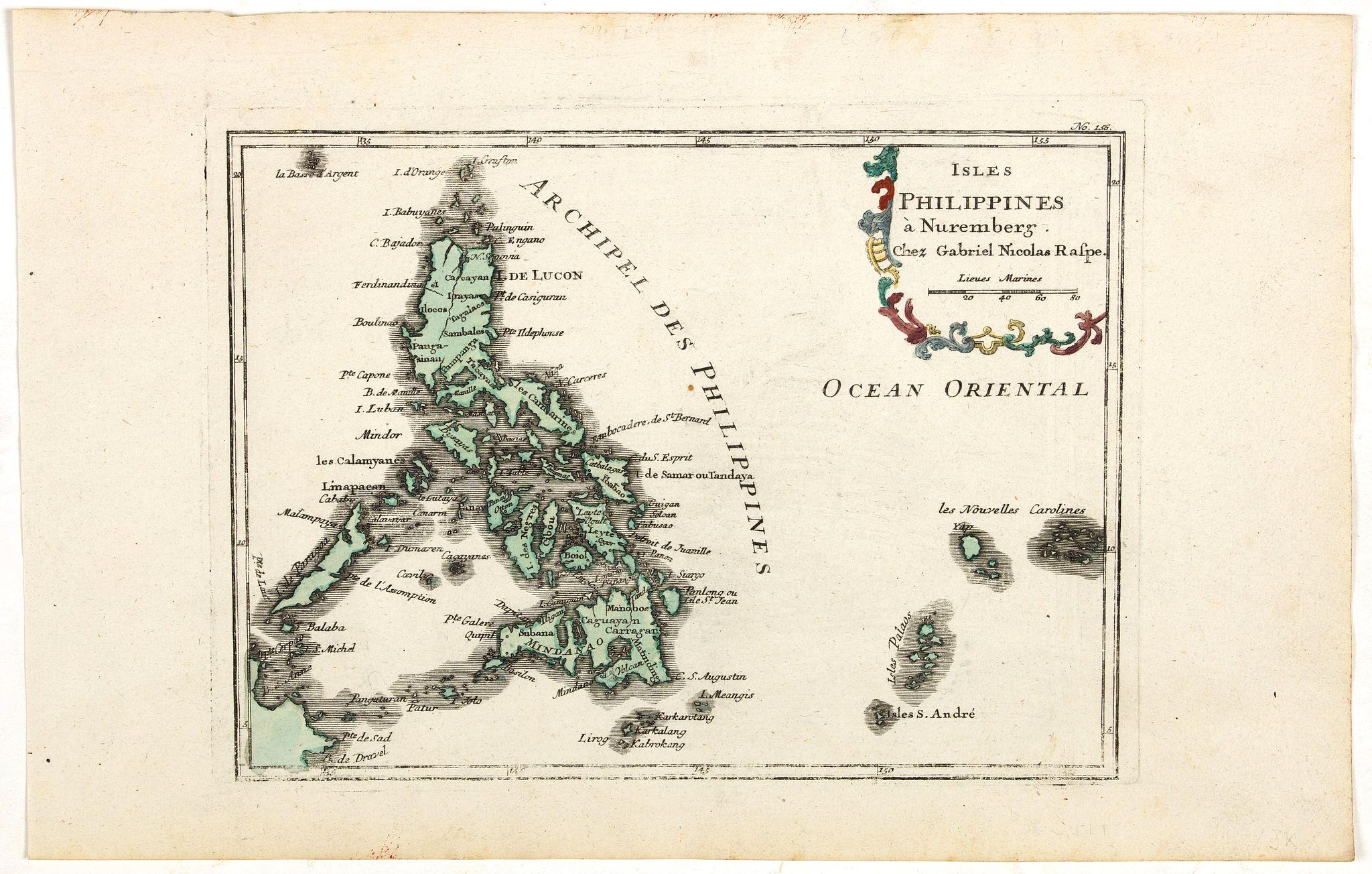 RASPE, G.N. -  Isles Philippines. . .