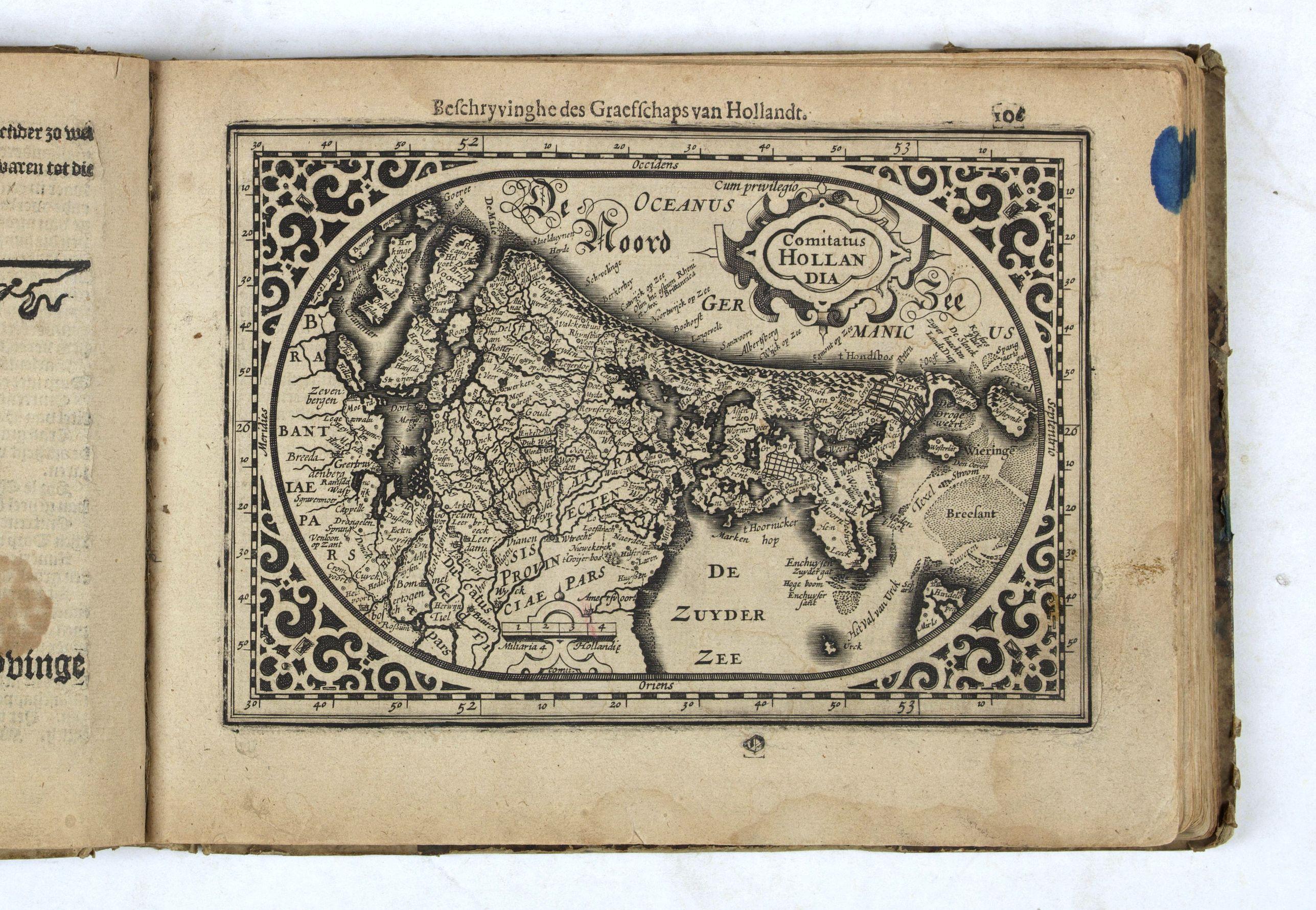 GOOS, A. -  Nieuw Nederlandtsch Caertboeck. Waer in volkomentlijcker als oyt te voren vertoont werden de XVII. Nederlanden.