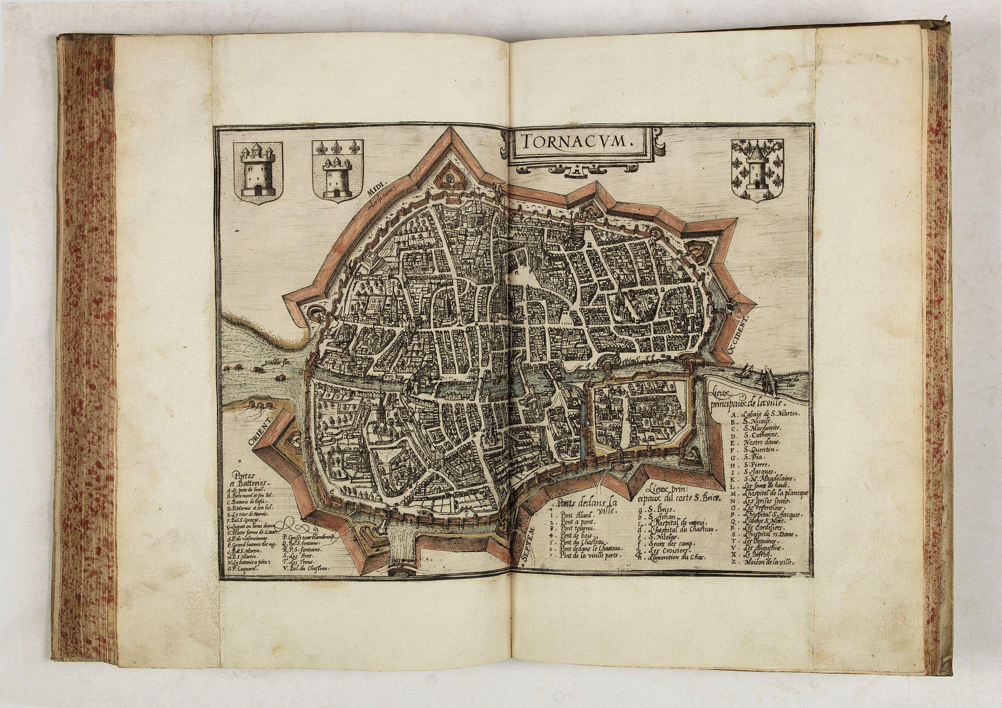 GUICCIARDINI, L. -  Descrittione di M. Lodovico Guicciardini patritio Fiorentino, di tutti i Paesi Bassi,…