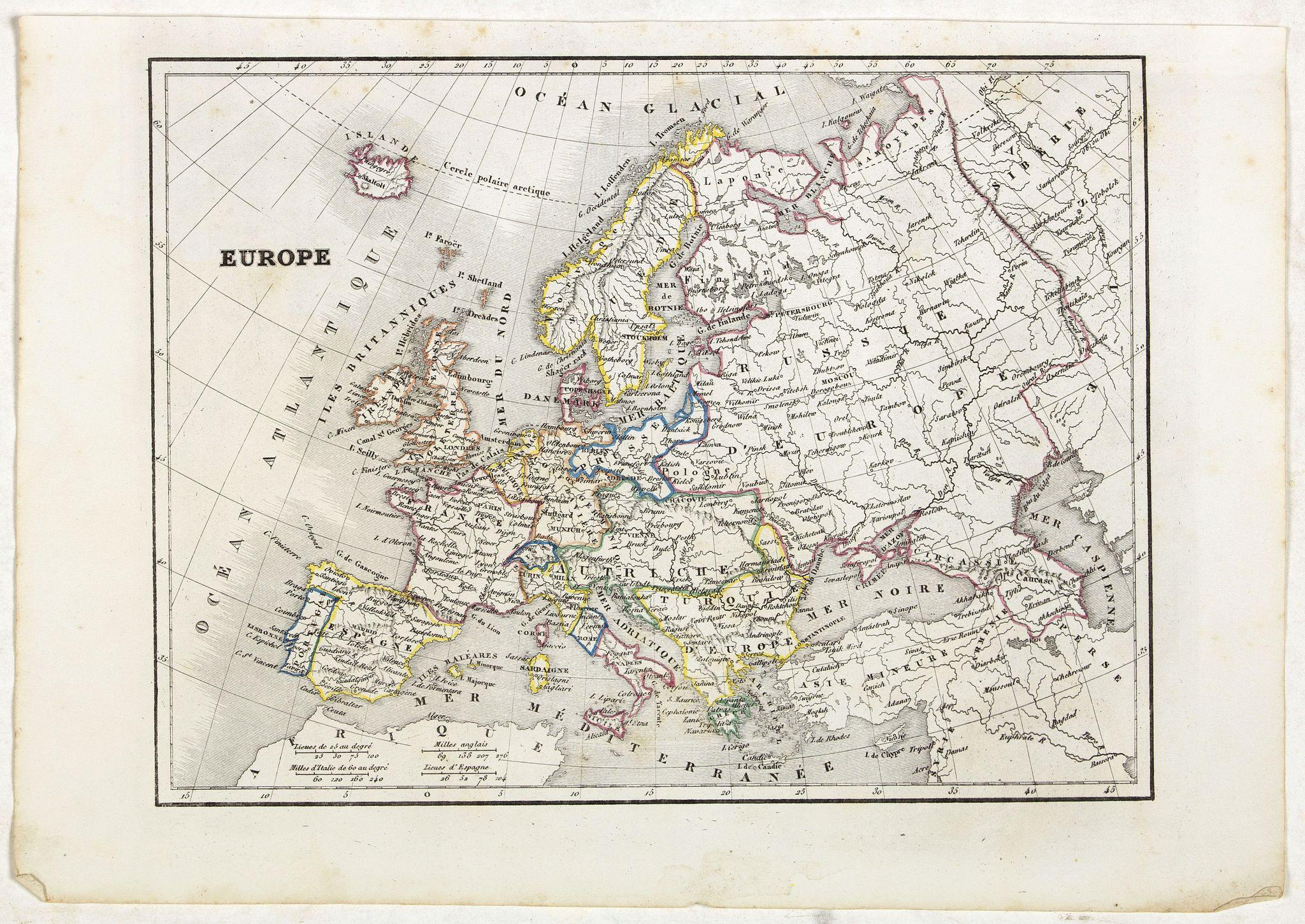 MONIN, C.V. -  Europe.