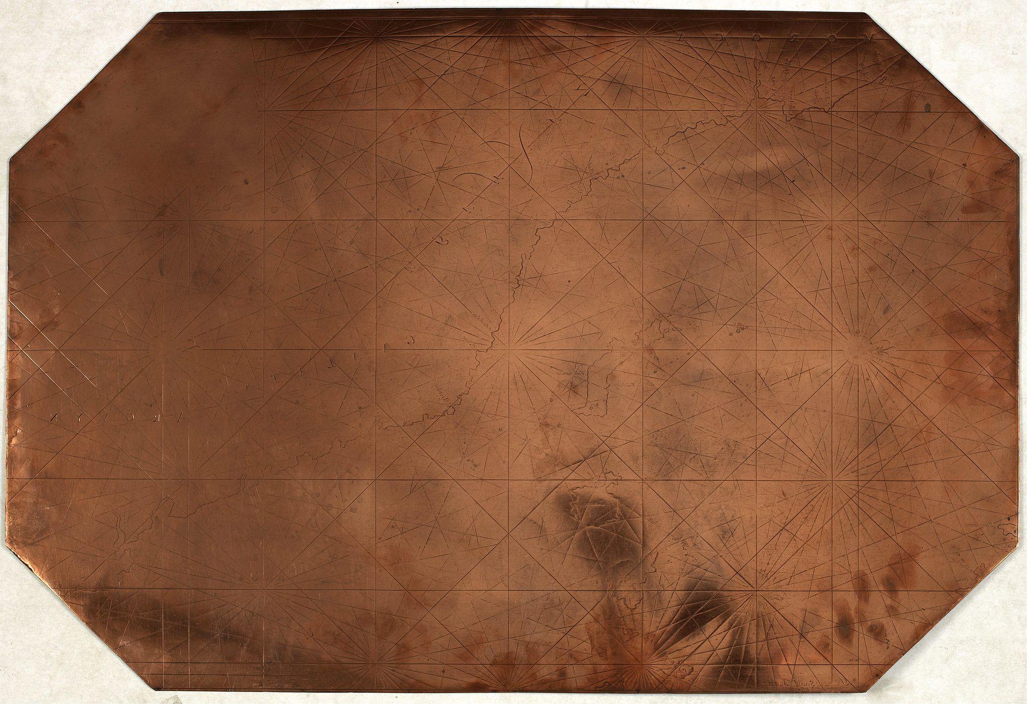 DUTCH -  Original copperplate.