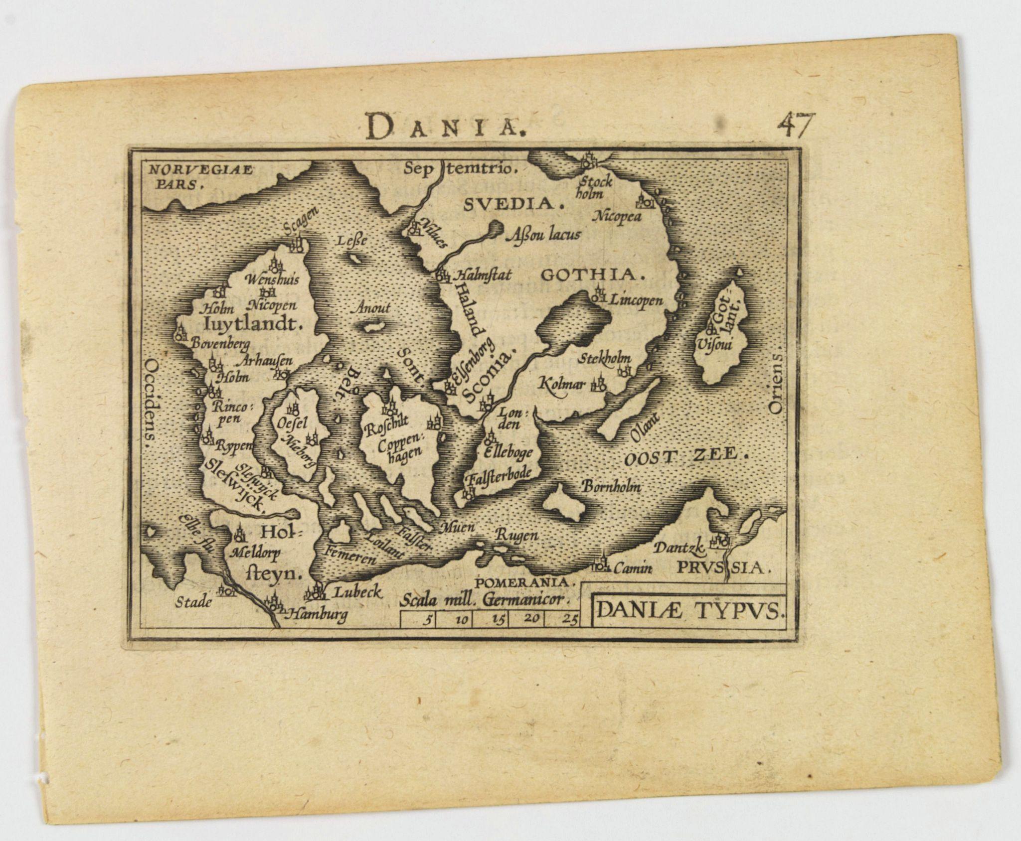 ORTELIUS, A. / VRIENTS, J.B. - Daniae Typus.