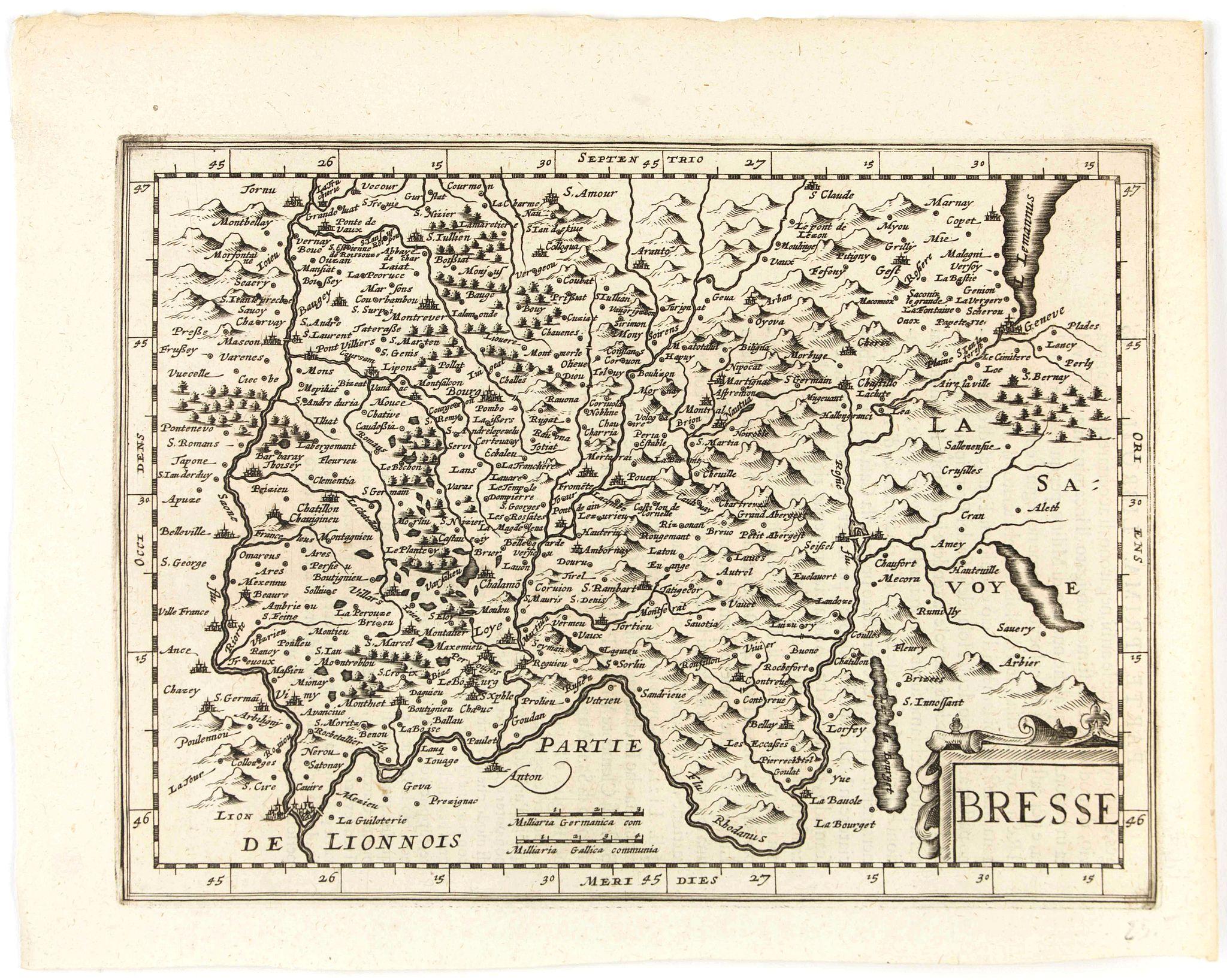 CLOPPENBURGH, J.E. -  Bresse.