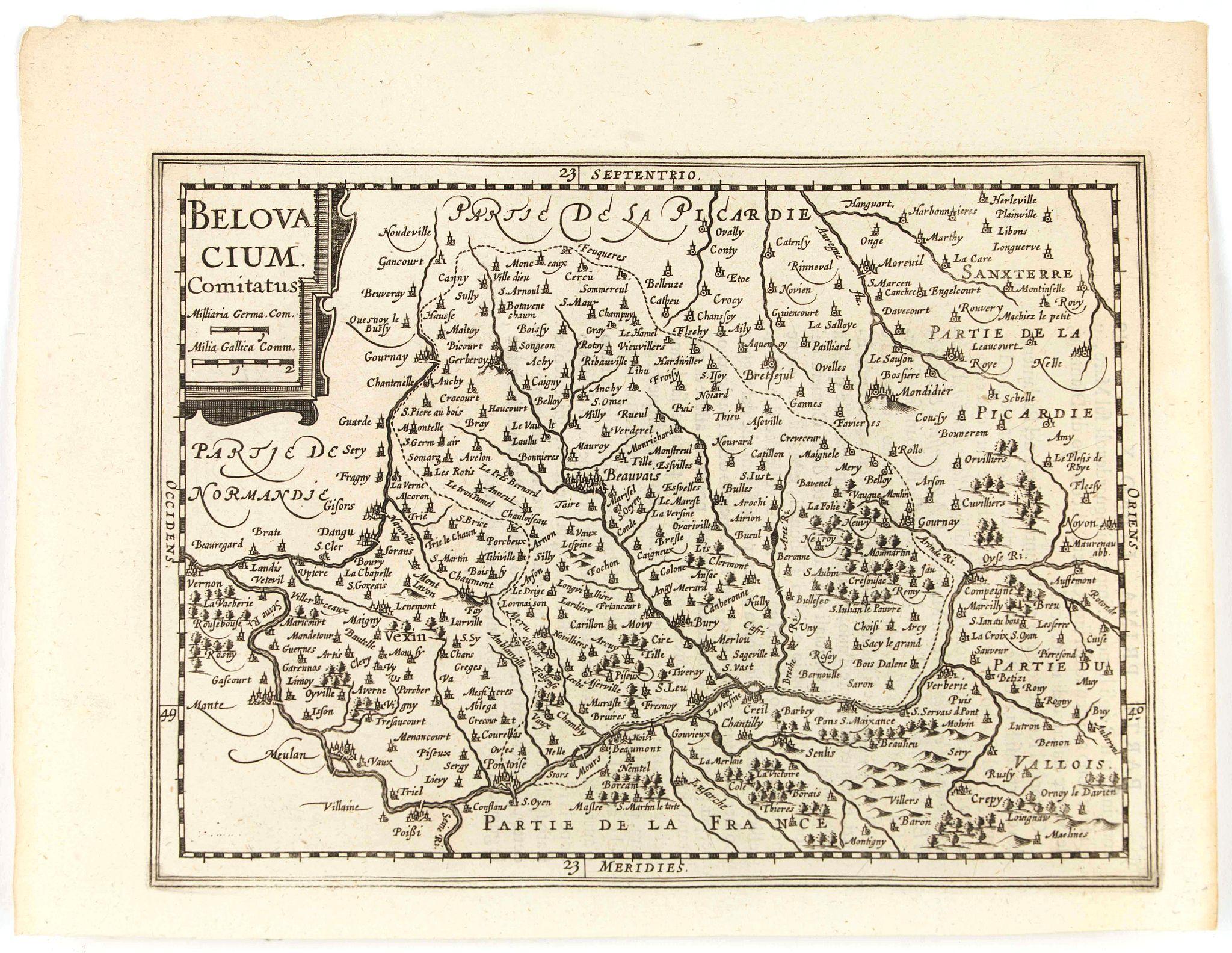 CLOPPENBURGH, J.E. -  Belovacium comitatus.