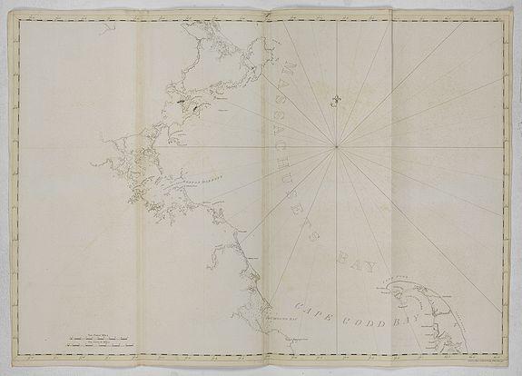 DES BARRES, J.F.W. -  [ Massachusets Bay, Cape Codd Bay ]