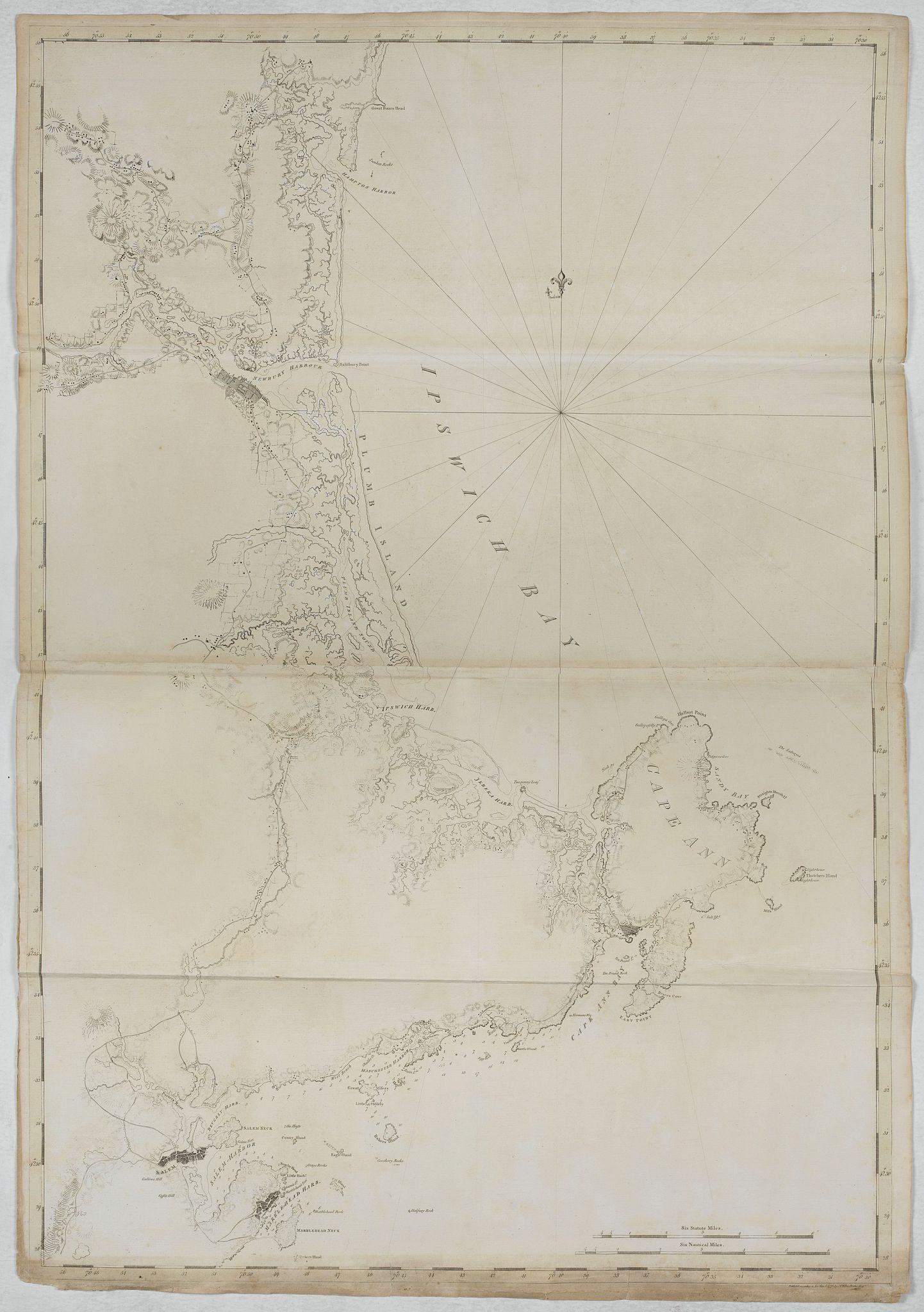 DES BARRES, J.F.W. -  [ Ipswich Bay ]